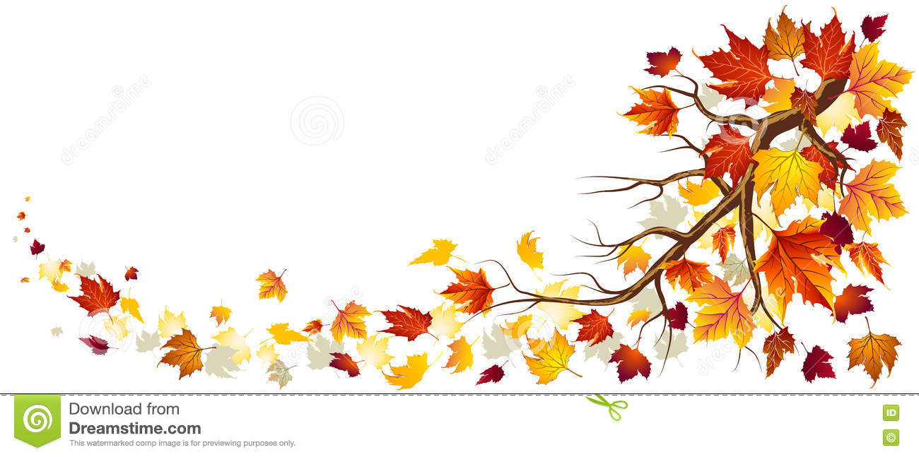 branch with autumn leaves stock vector illustration of divider clip art frame divider clip art diamonds