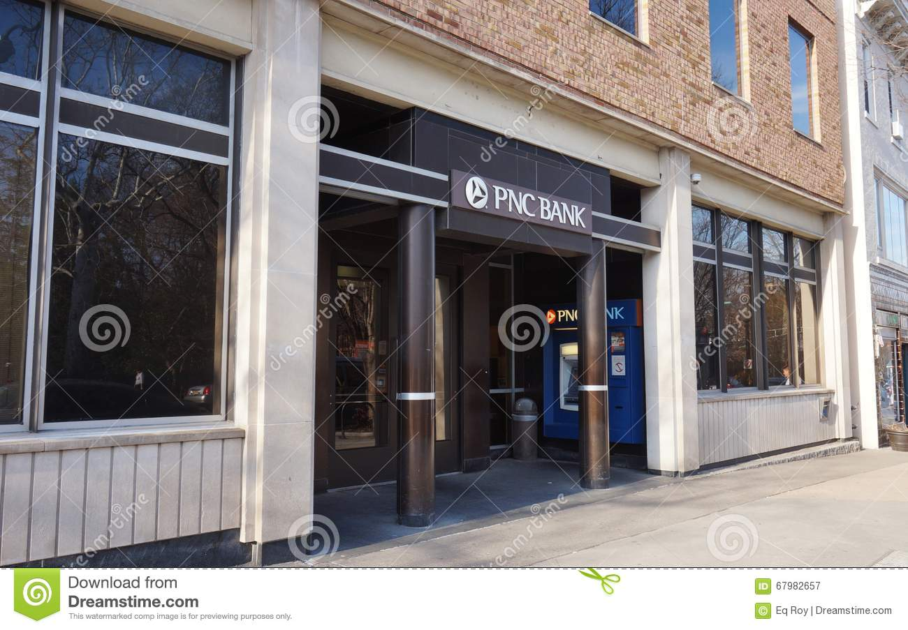 A Branch Of PNC Bank On Nassau Street In Princeton, New