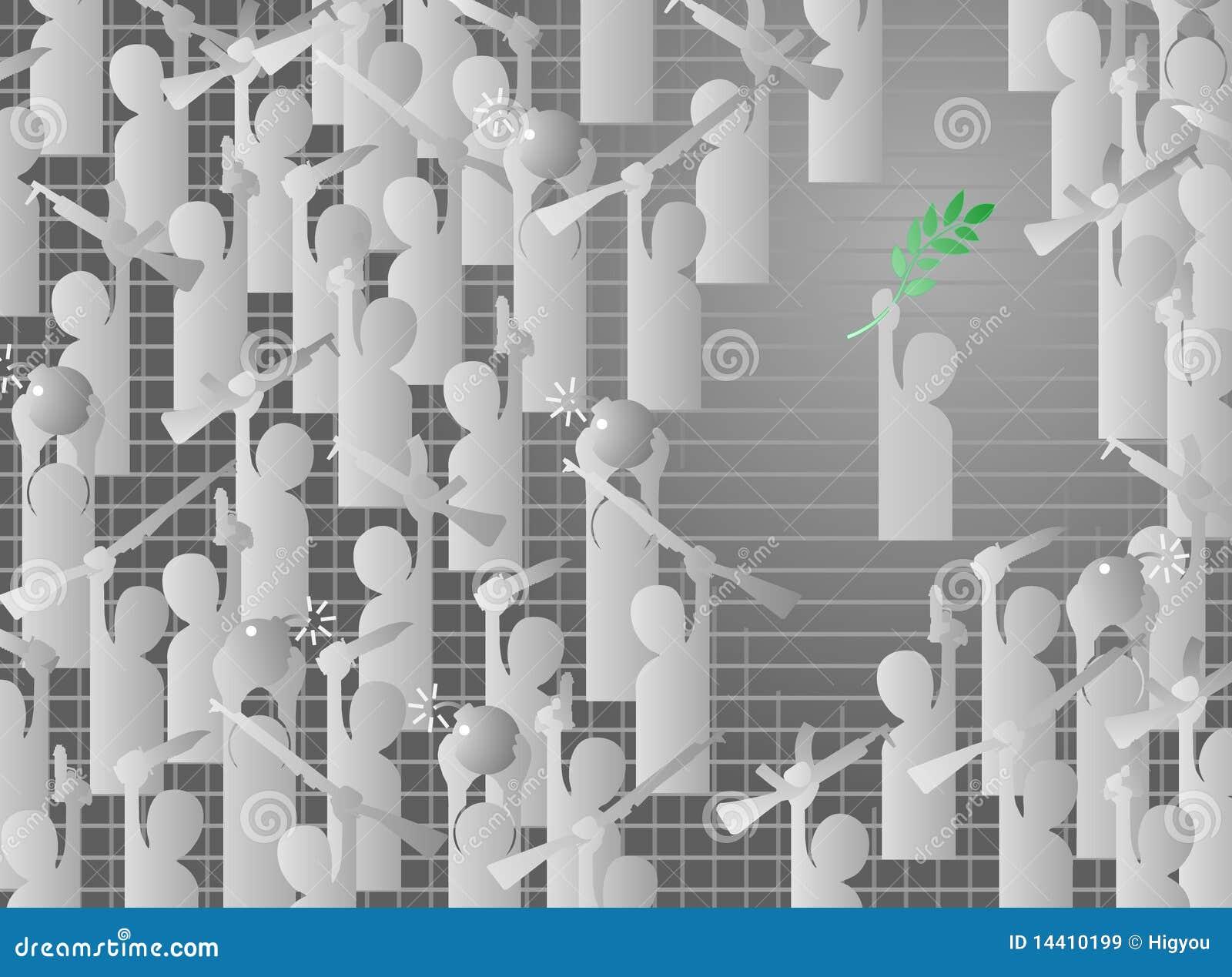 branche d 39 olivier illustration de vecteur illustration du message 14410199. Black Bedroom Furniture Sets. Home Design Ideas