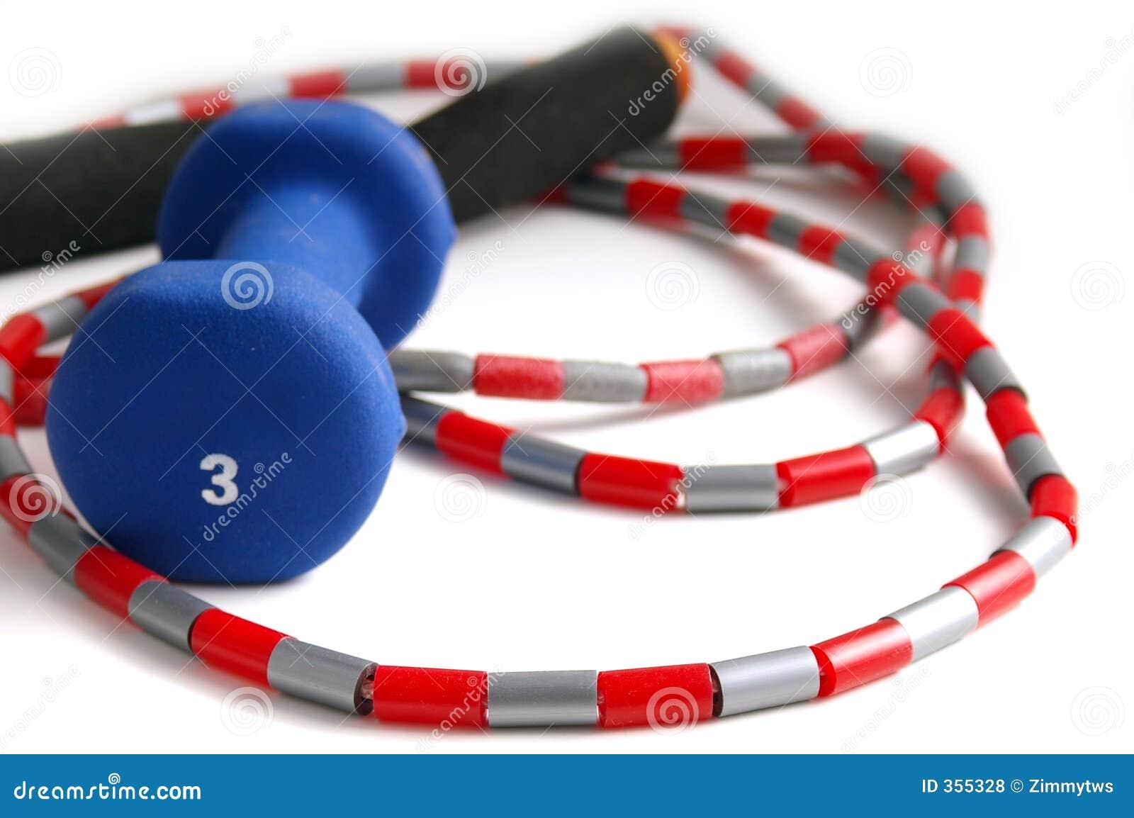Brancher-corde et poids