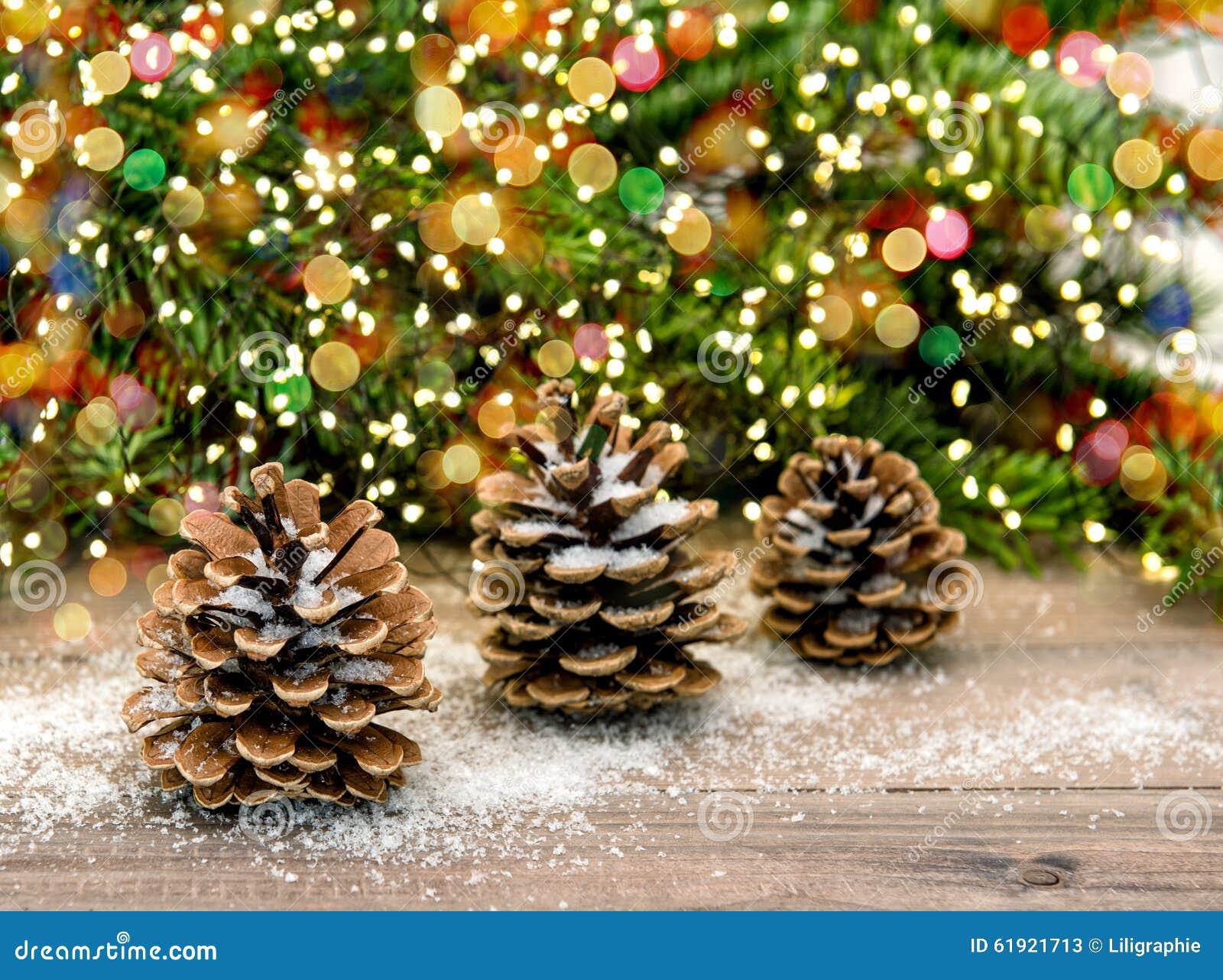 Branches d 39 arbre de c ne et de no l de pin la couleur - Deco avec des branches d arbres ...