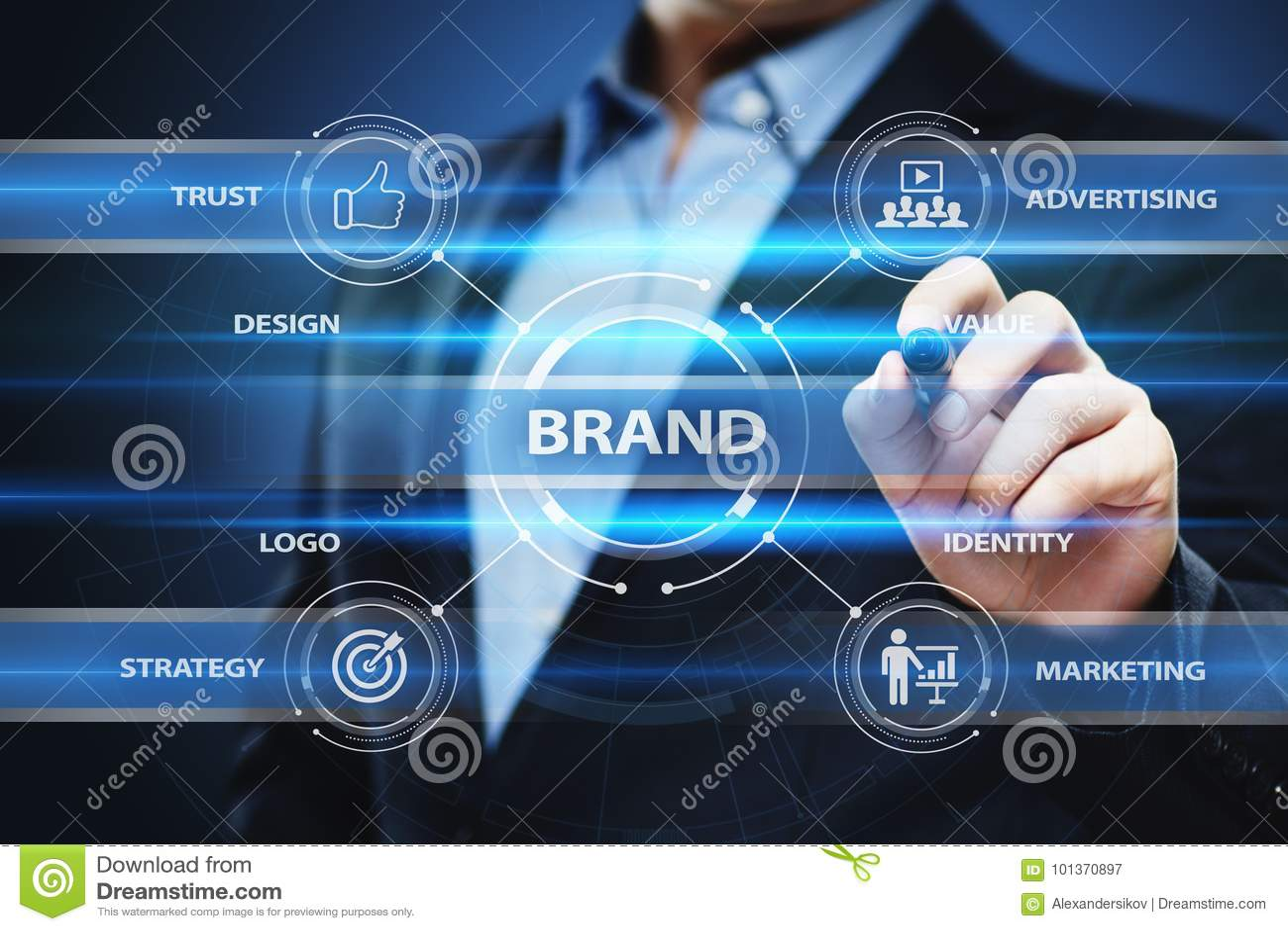 Brand Advertising Marketing Strategy Identity Business