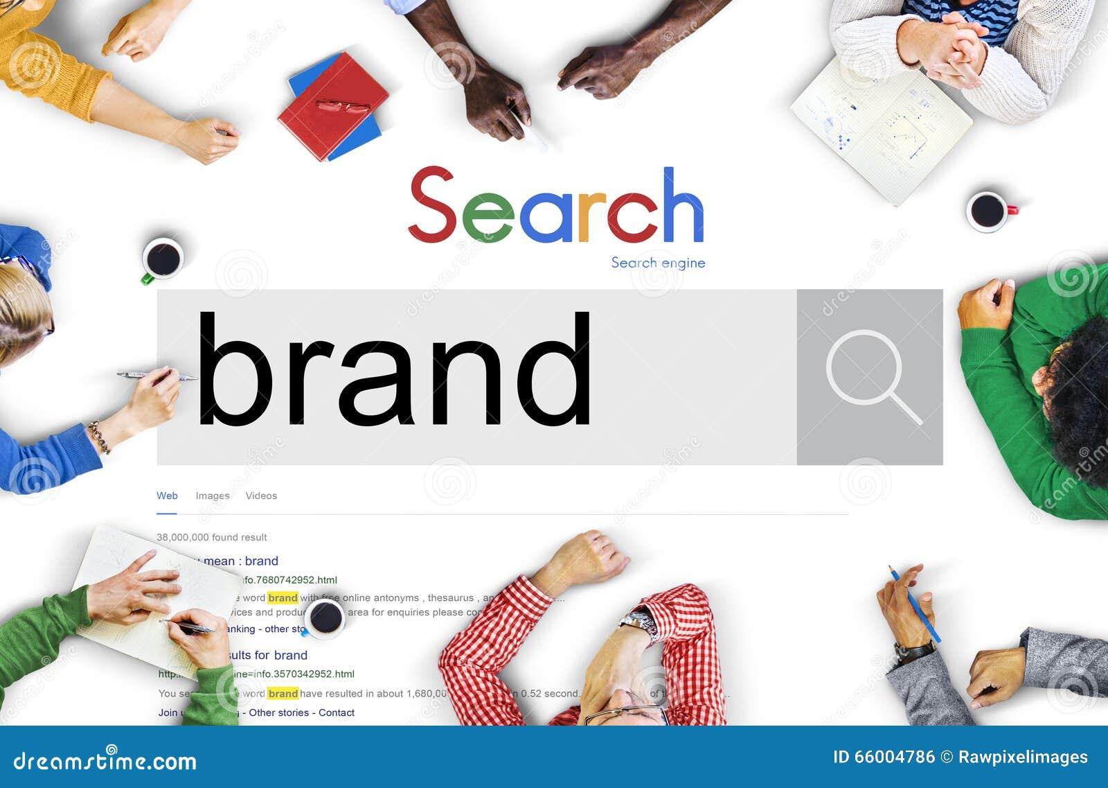 Brand Branding Marketing Advertising Trademark Concept Stock Photo - Image of concept, browsing: 66004786 - 웹