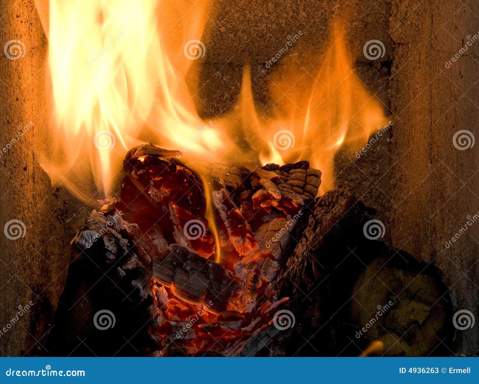 Brand in de oven