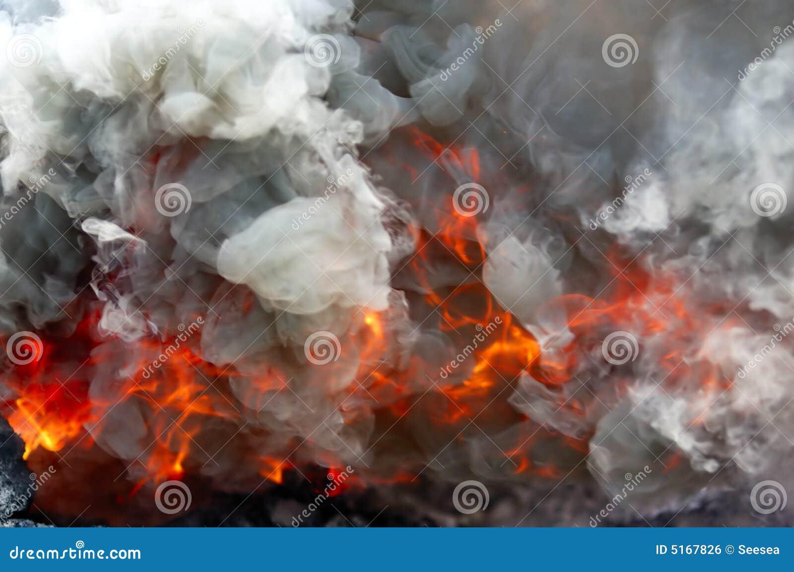 Brand en rook