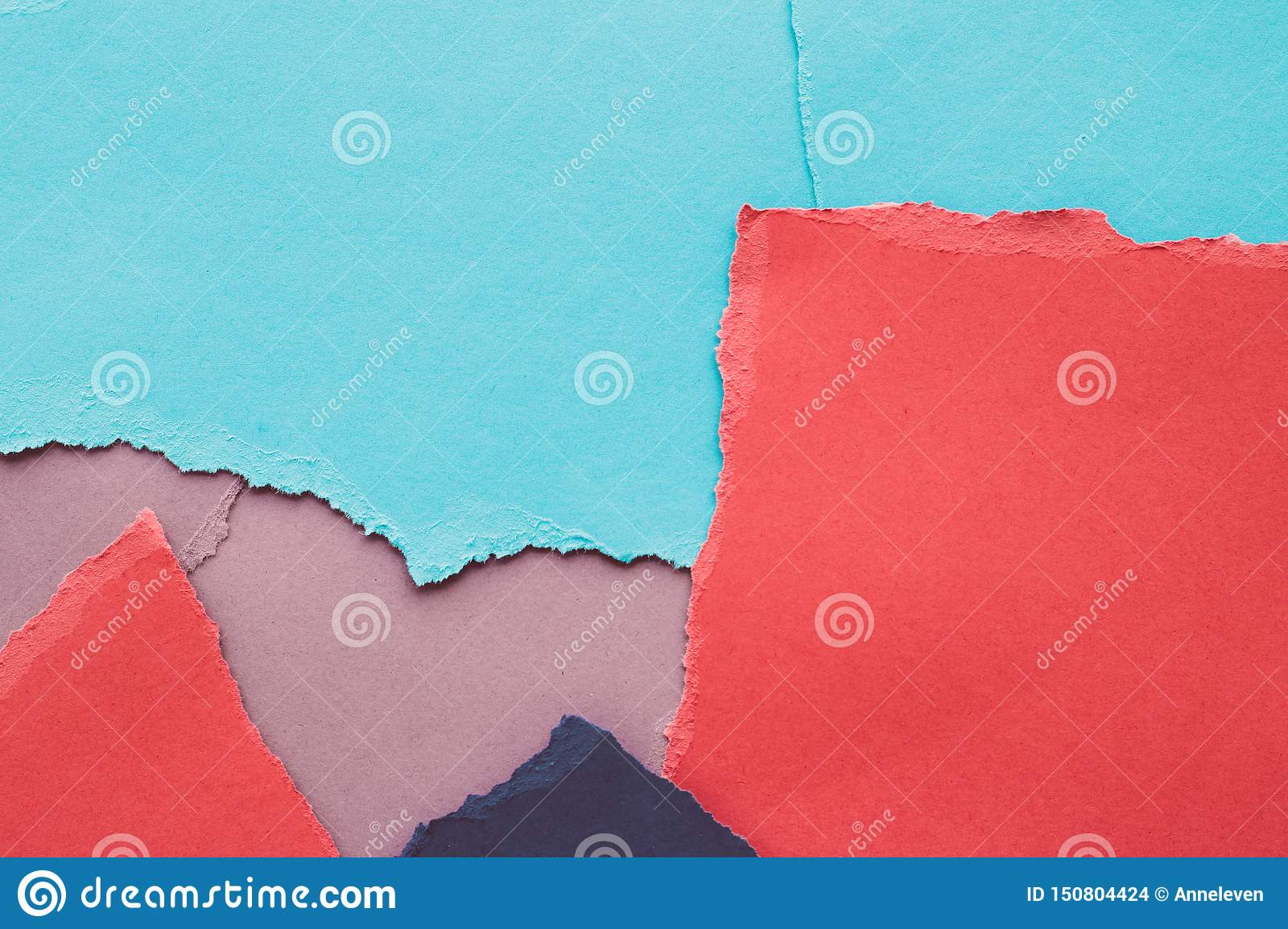 Torn paper textured background, stationery mockup