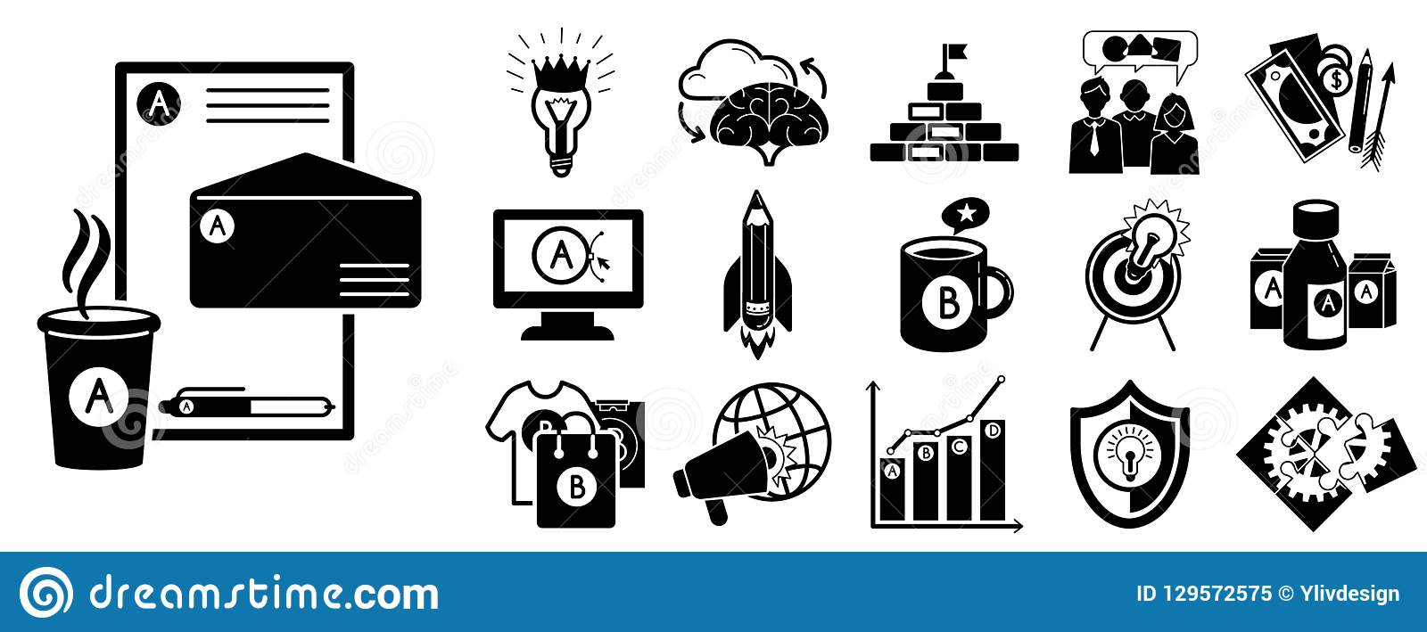brand identity icon set simple style stock vector illustration of business digital 129572575 https www dreamstime com brand identity icon set simple set brand identity vector icons web design white background brand identity icon set image129572575