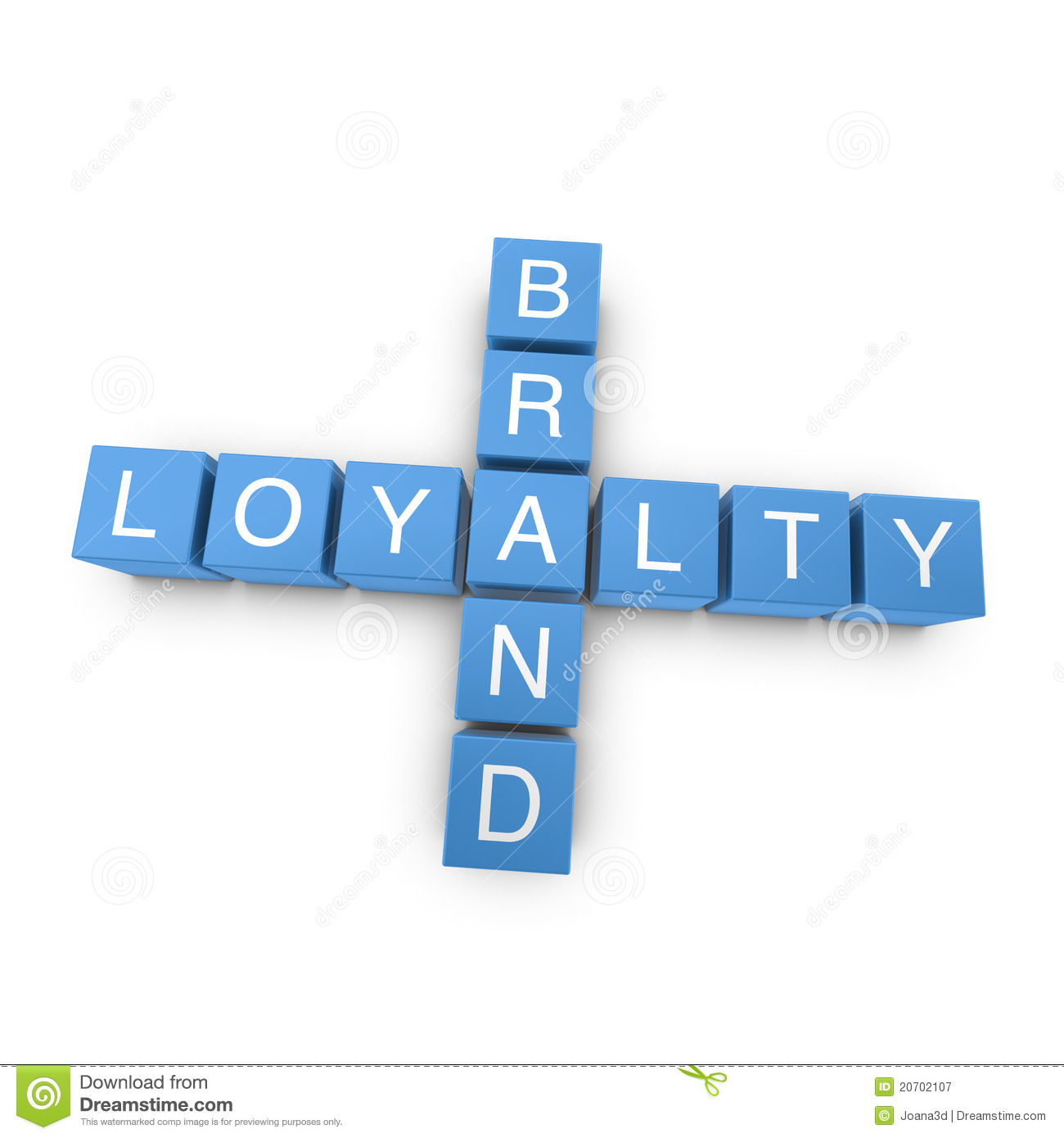 free loyalty pictures brand loyalty 3d crossword on white background stock 4061