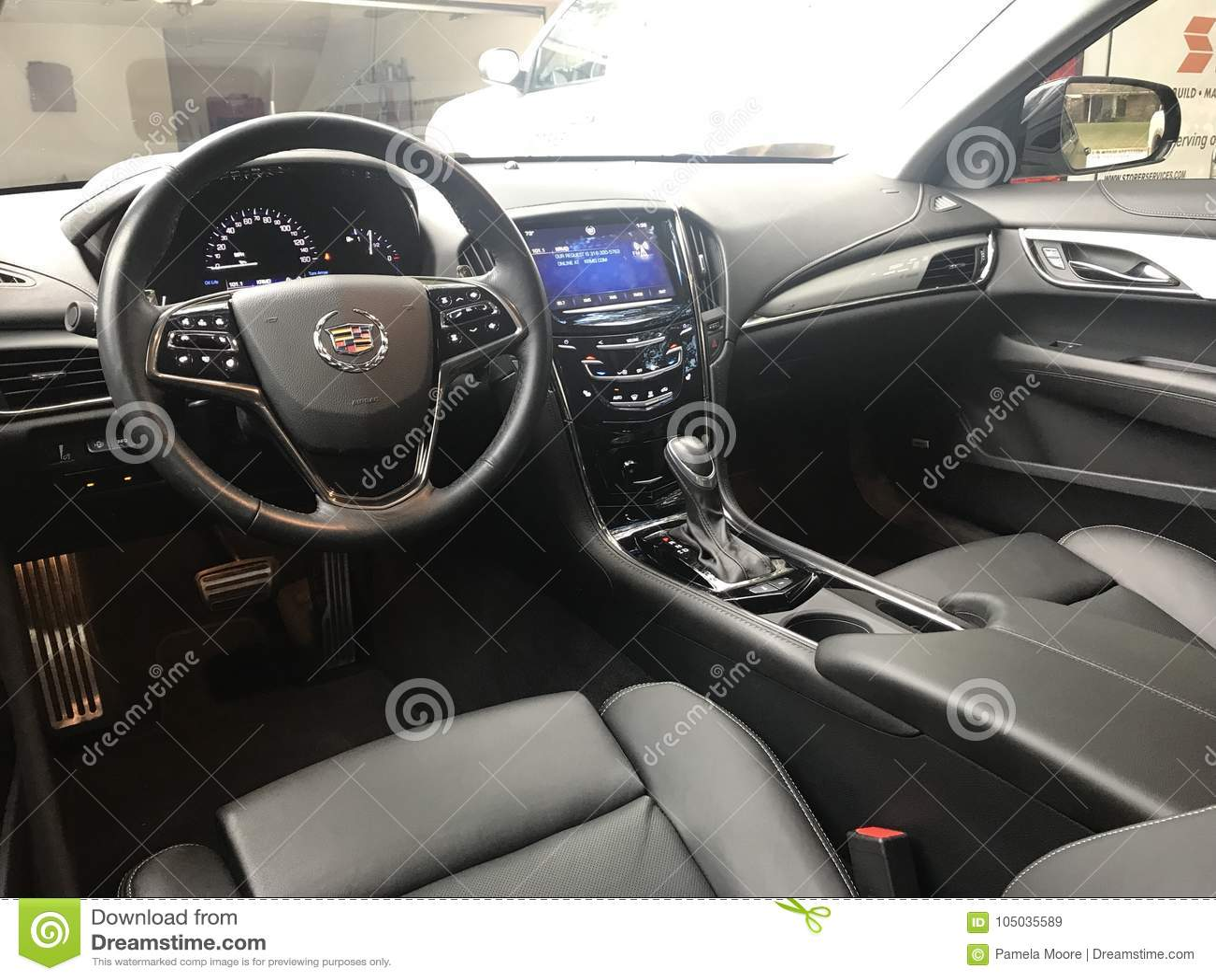 Cadillac Ats Editorial Stock Image Image Of Luxury 105035589