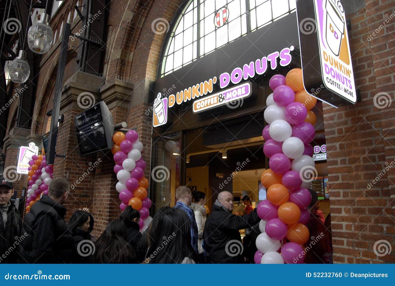 Buy Dunkin donuts stock?