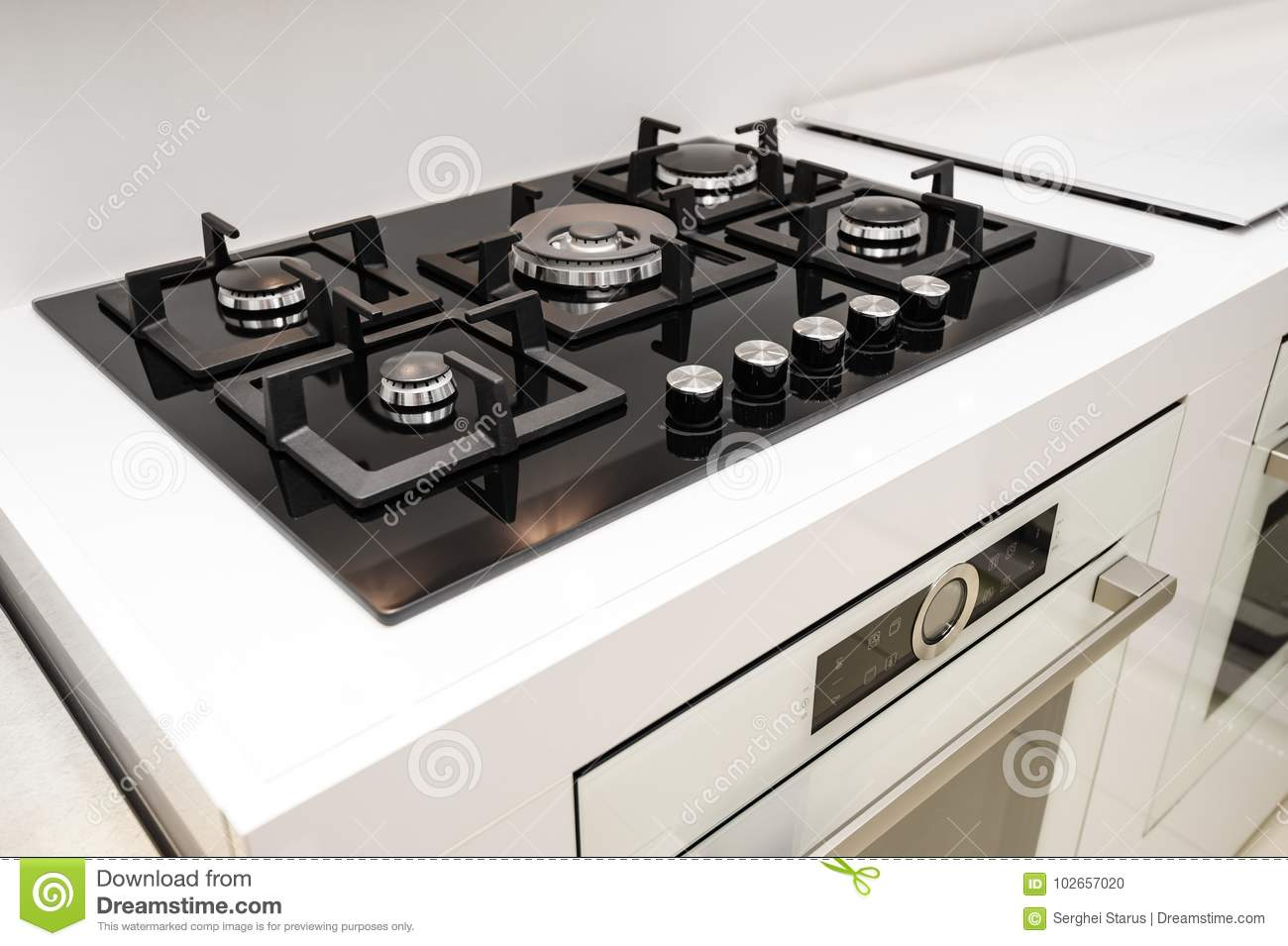 How to embed a gas stove in the countertop: step by step instructions 60