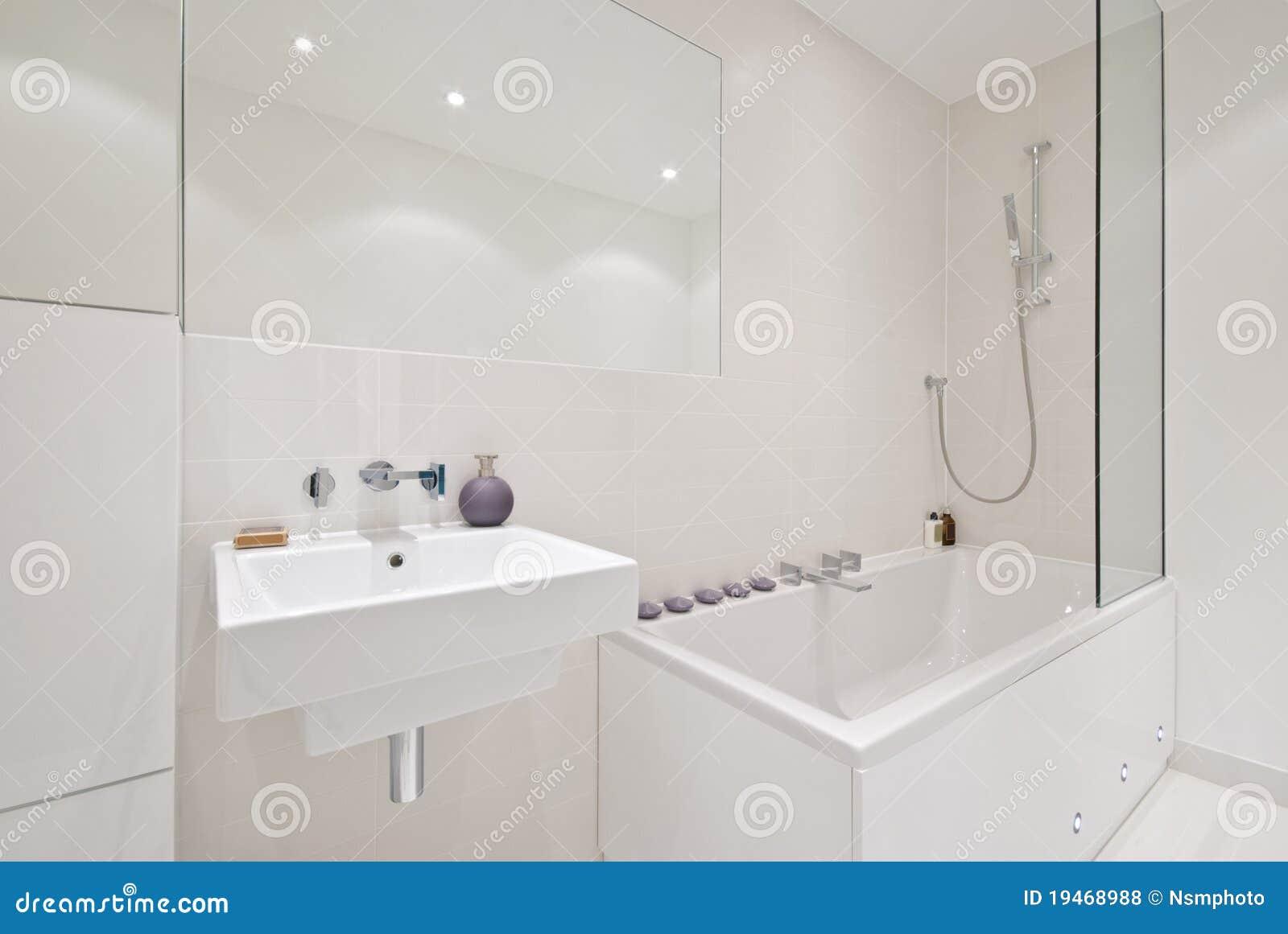Brand new modern bathroom stock photo image of modern 19468988 for Best bathroom hardware brands