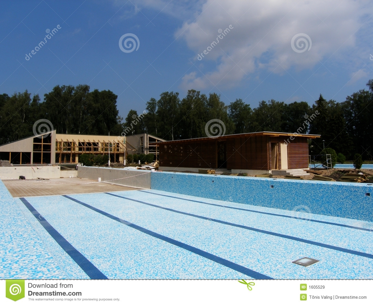 Brand new swimming pool royalty free stock images image for New swimming pool