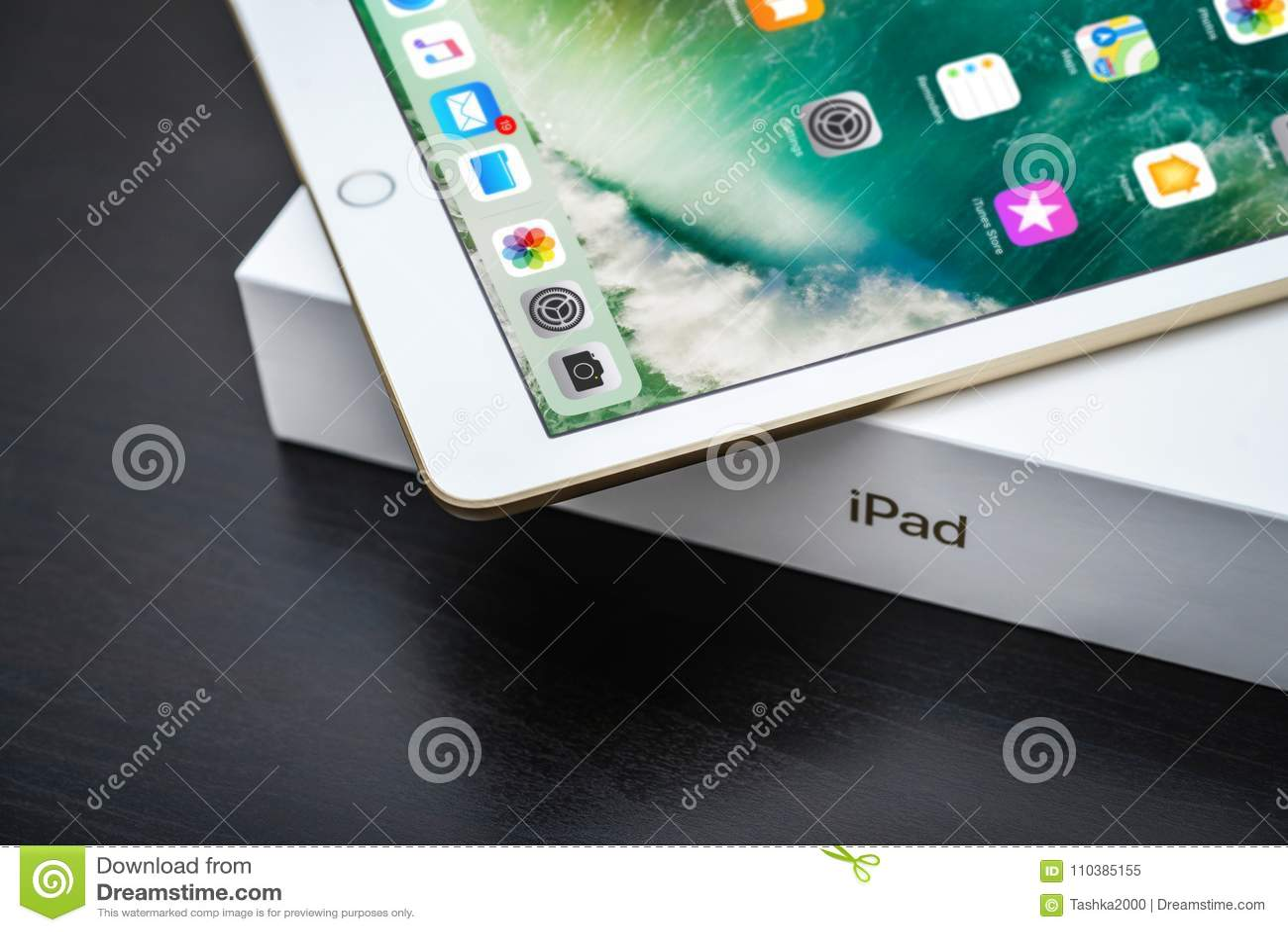 Brand new white Apple iPad Gold