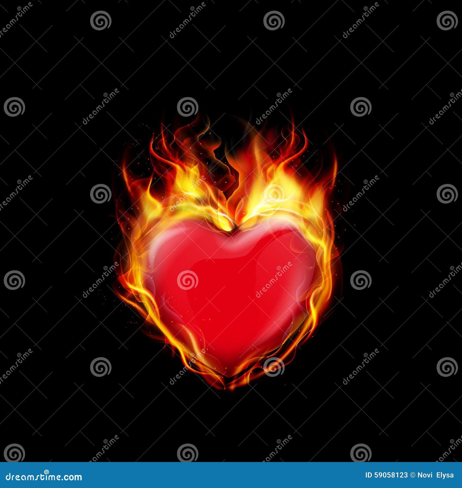 bränner i hjärtat