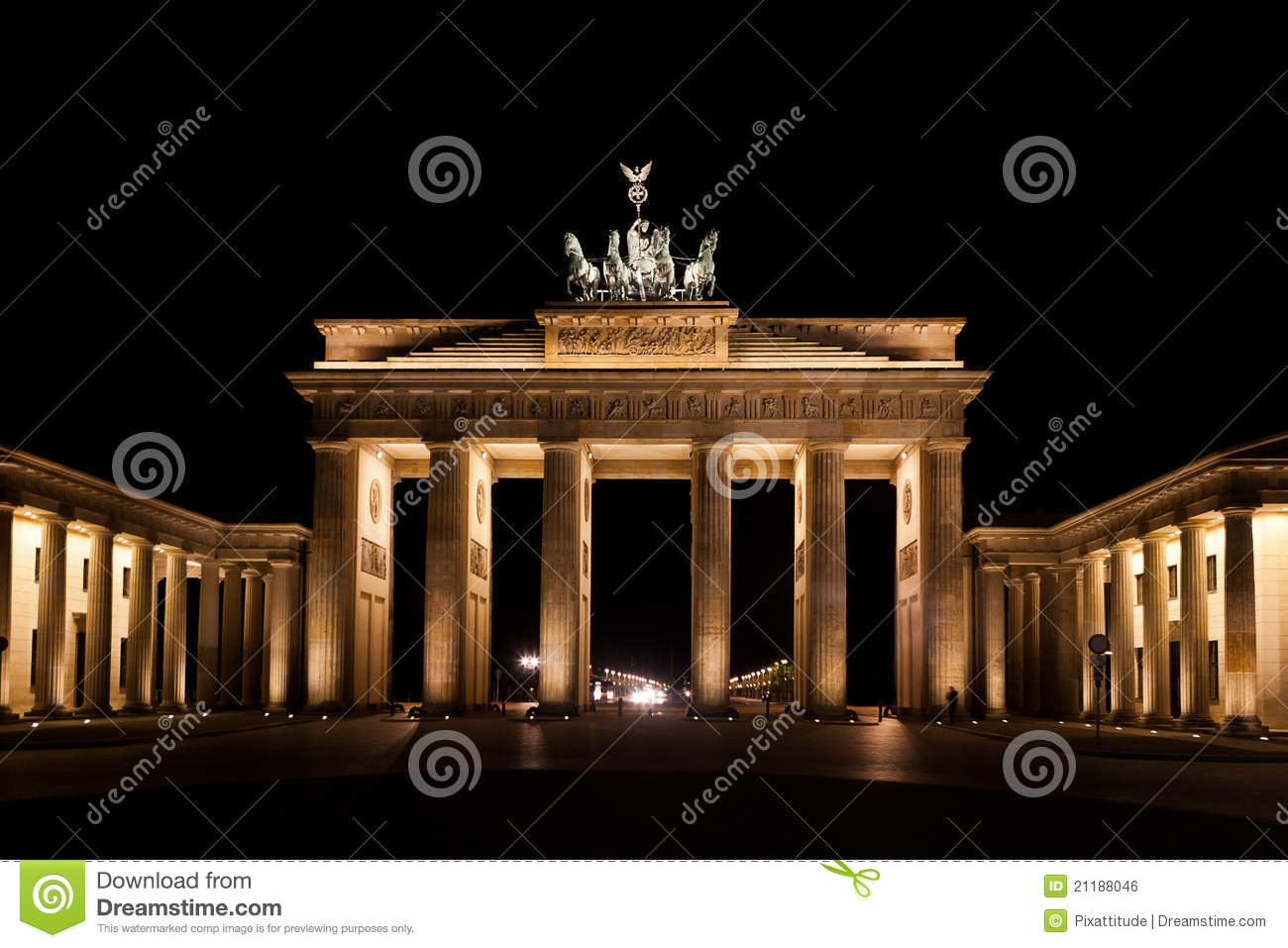 Brandenburg Gate berlin gemany