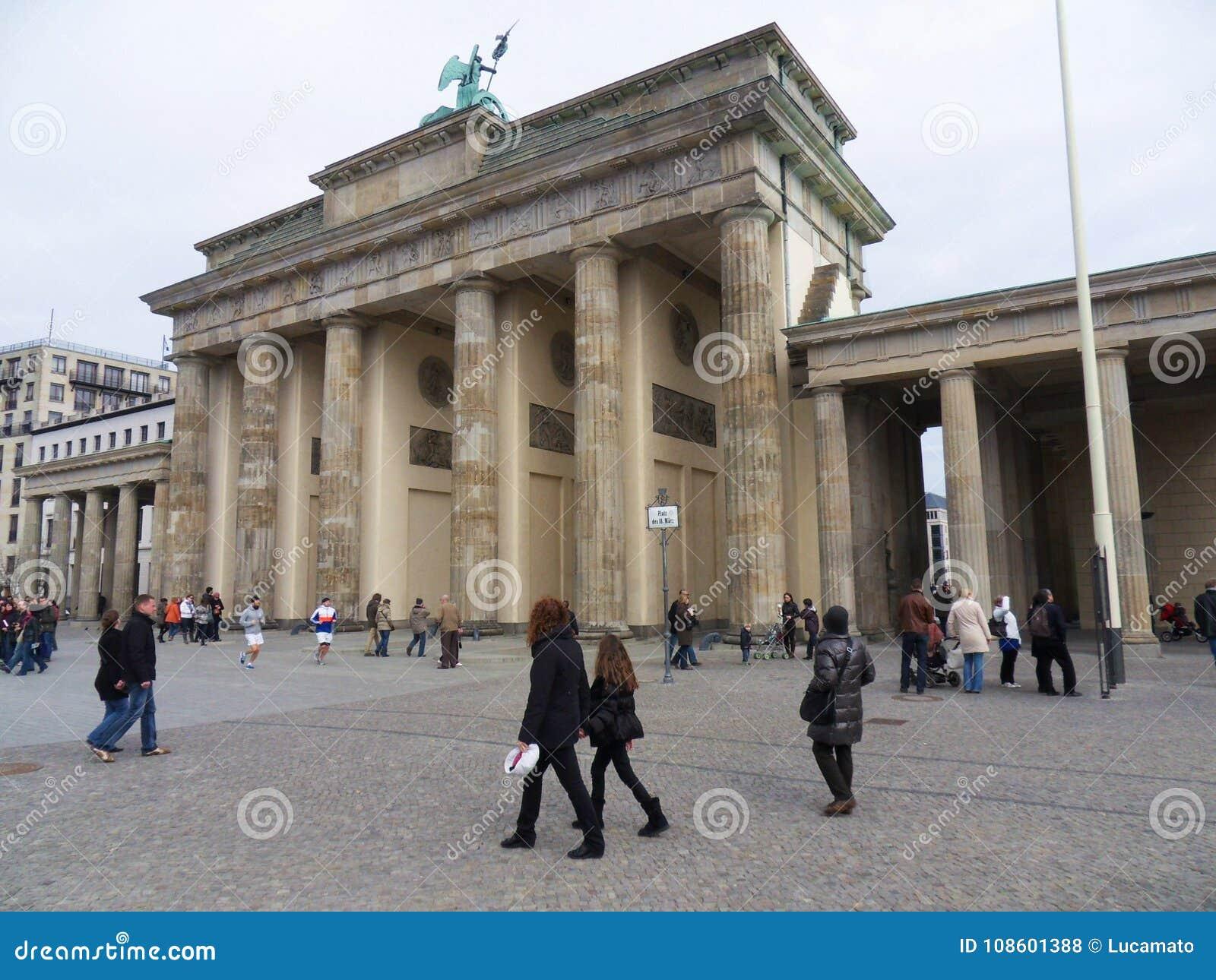 Brandenburg Gate from the west