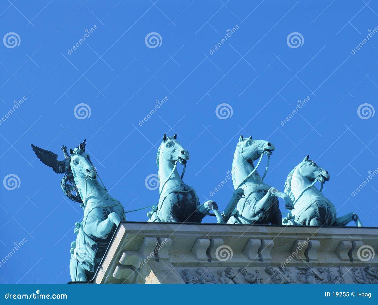 Brandenburger Felsen - Quadriga