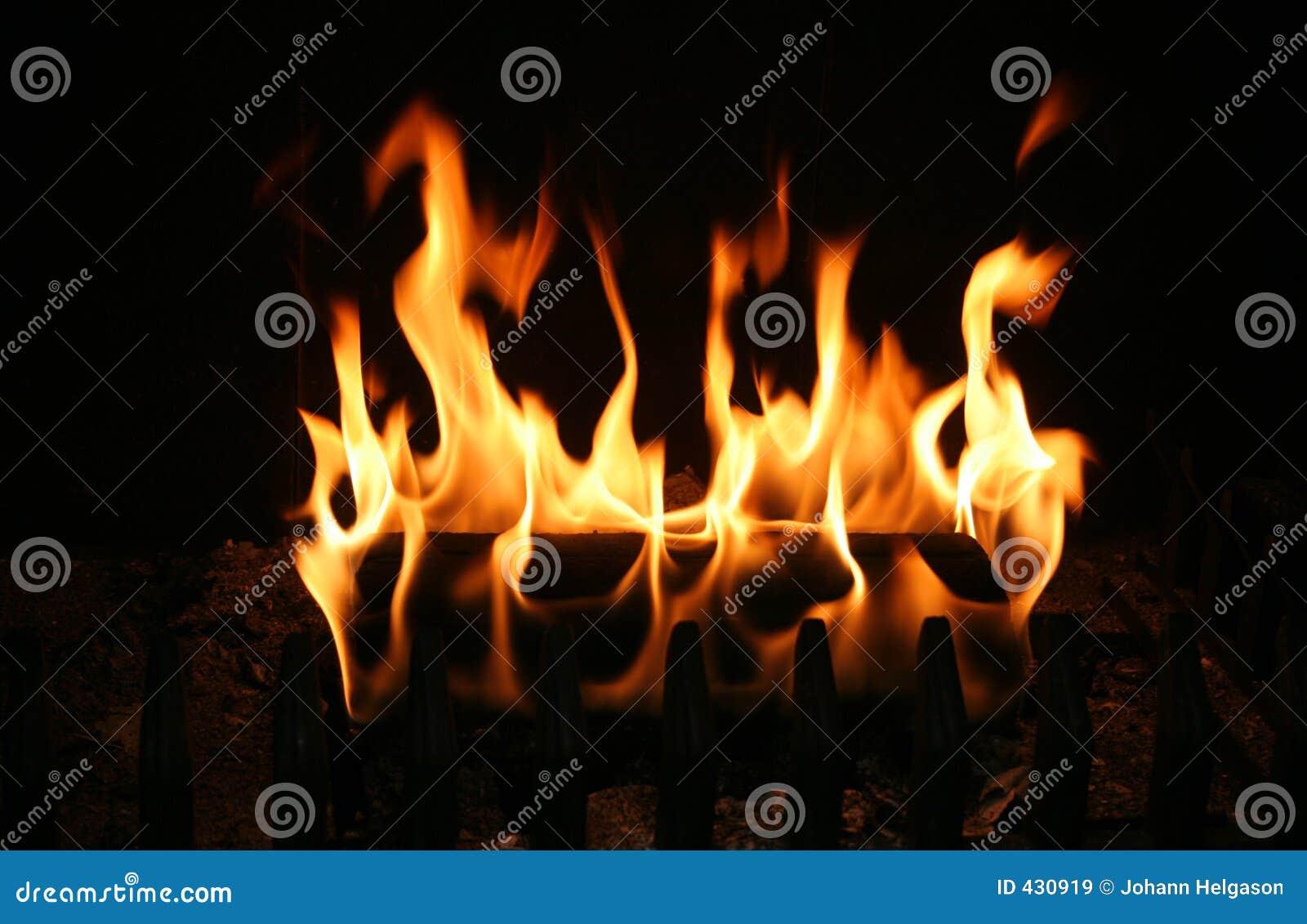 Brandend logboek