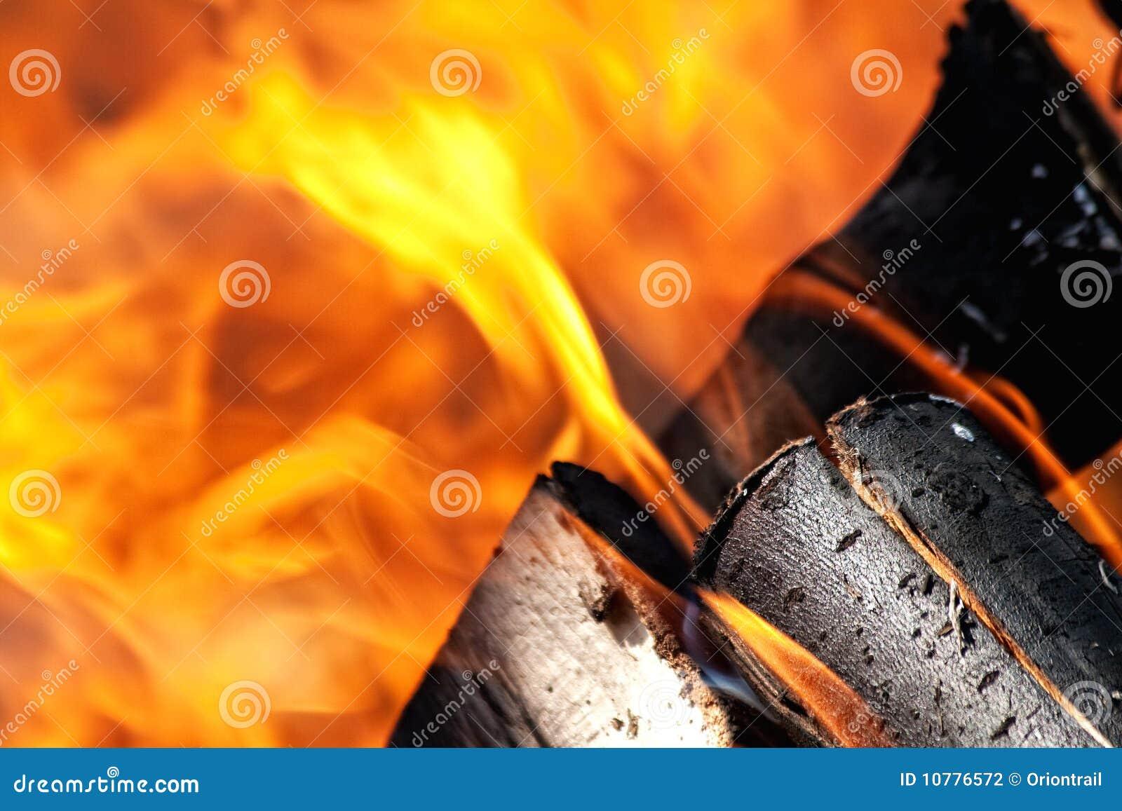 Brandende brand