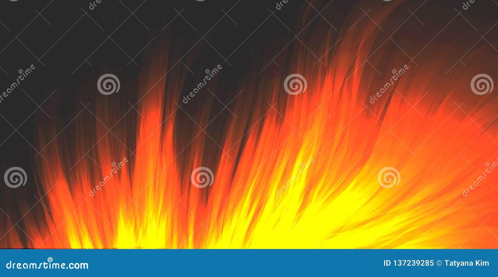 Brandende brand, opvlammende vlam, achtergrond