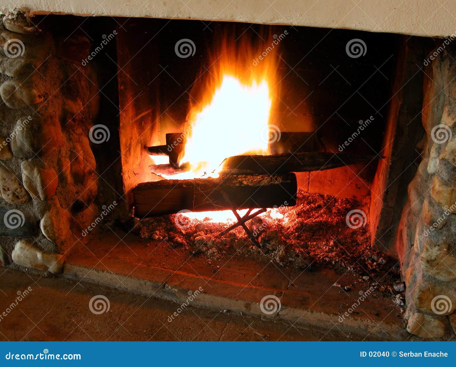 Brandende vlammen 2