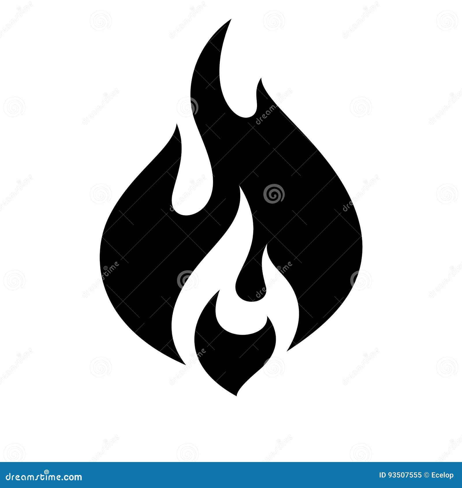 Brandflammasymbol