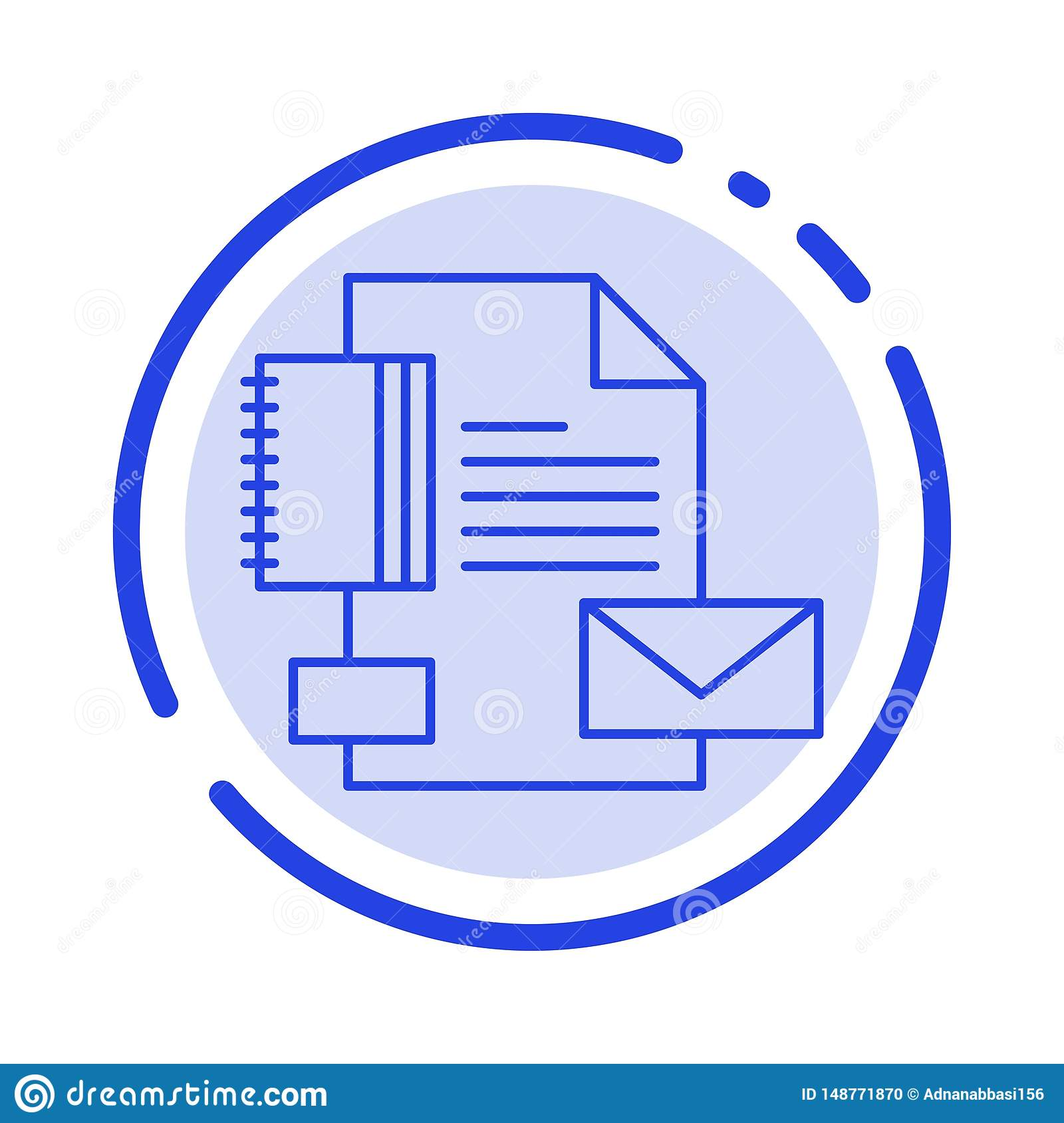 branding brand business company identity blue dotted line line icon stock vector illustration of background geometric 148771870 https www dreamstime com branding brand business company identity blue dotted line icon image148771870