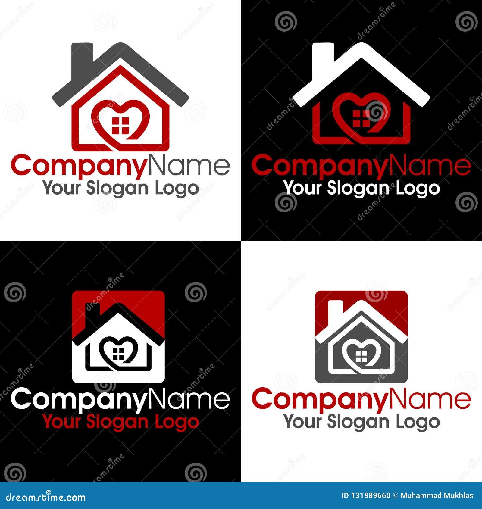 Housing Logo Stock Vector Illustration Of Heart