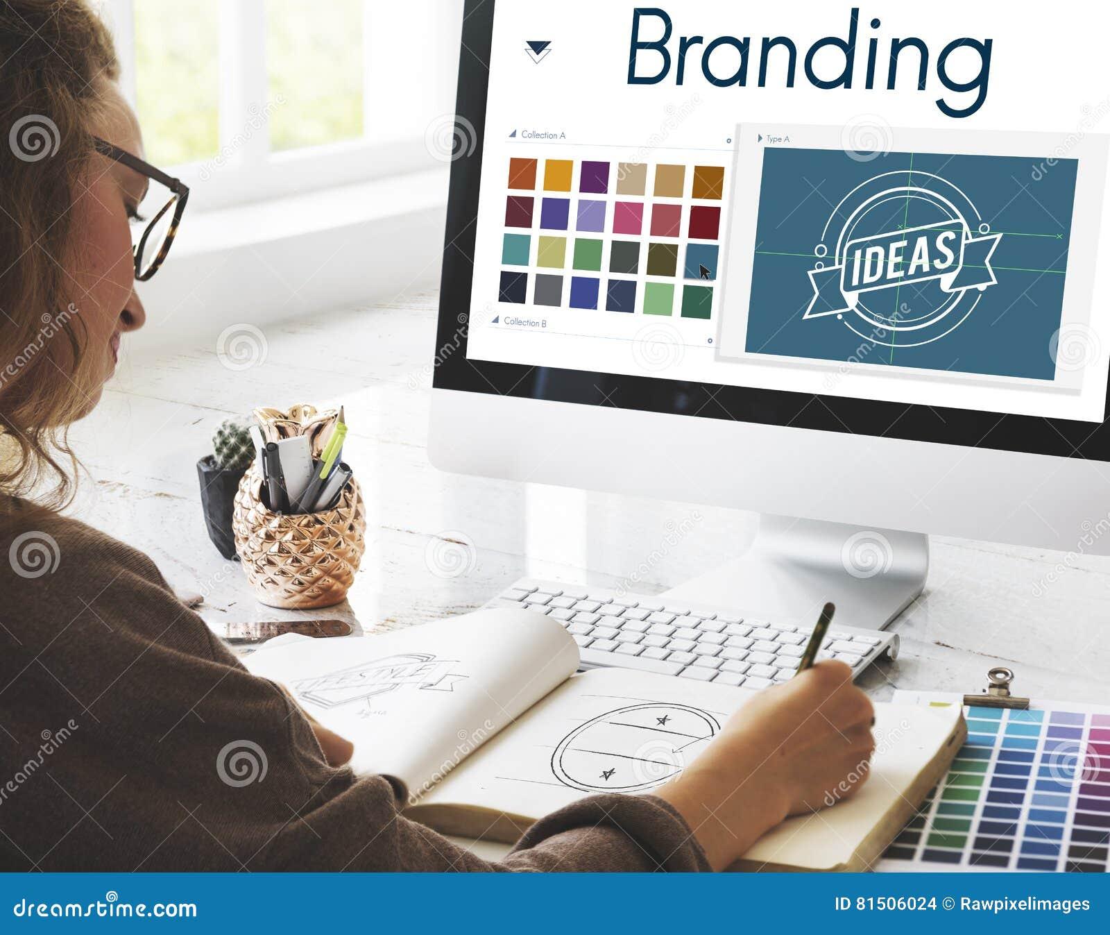 Branding Ideas Design Identitiy Marketing Concept
