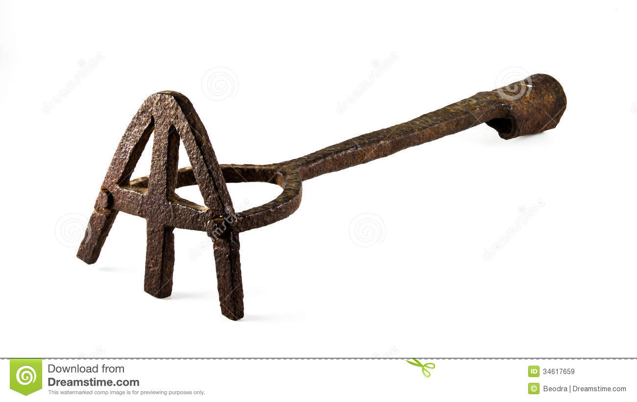 Branding Iron For Cattle Royalty Free Stock Images - Image: 34617659