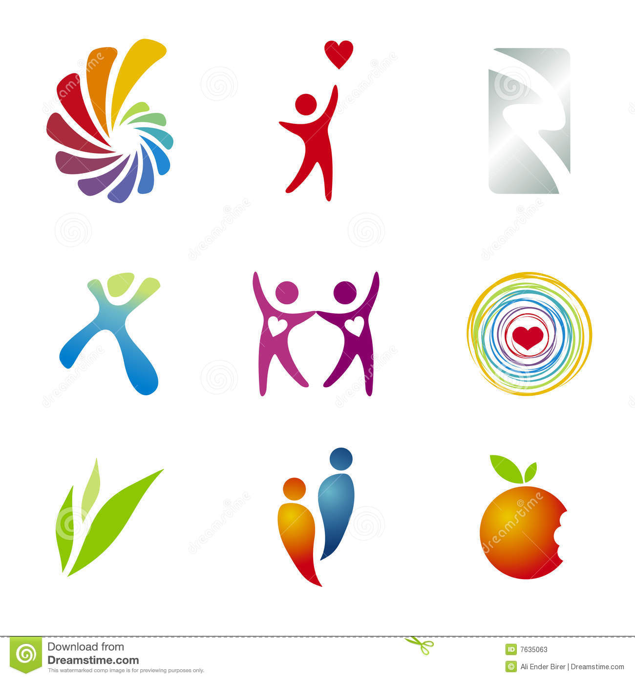 Branding / Logo Templates Stock Photos - Image: 7635063