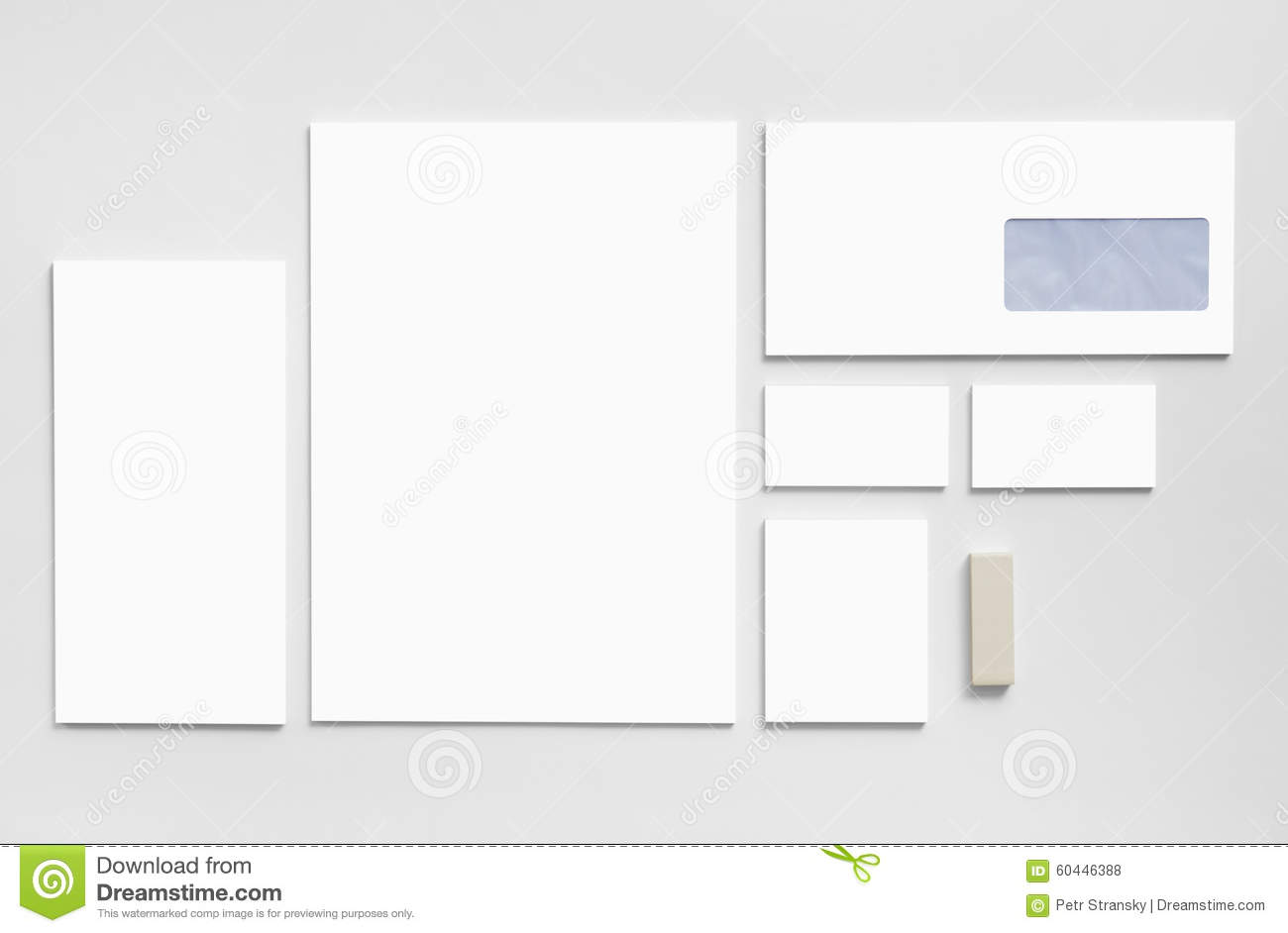 Branding mockup template with white business cards stock photo branding mockup template with white business cards alramifo Image collections