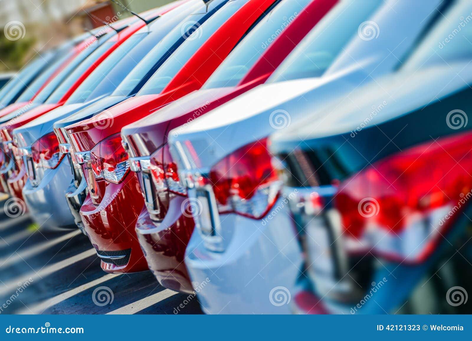 Brandnew samochody w zapasie