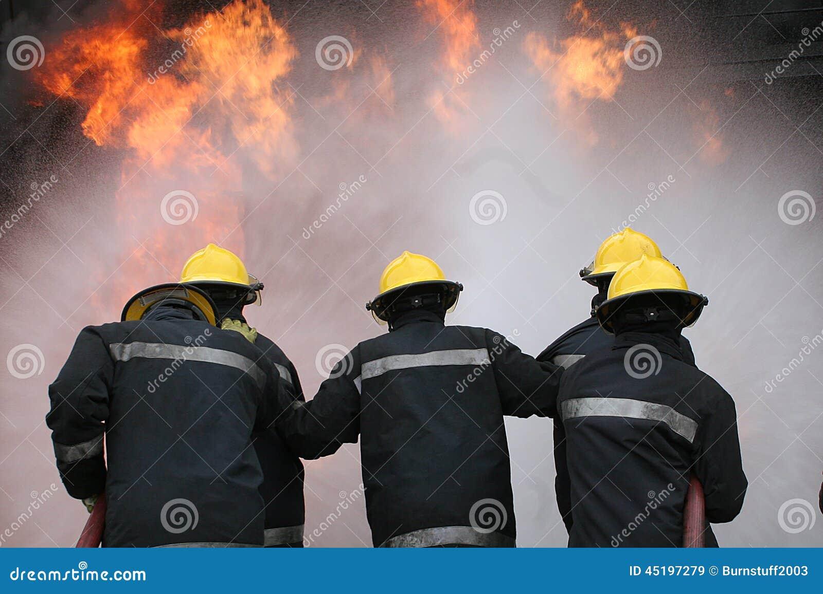 Brandvechter bij brand