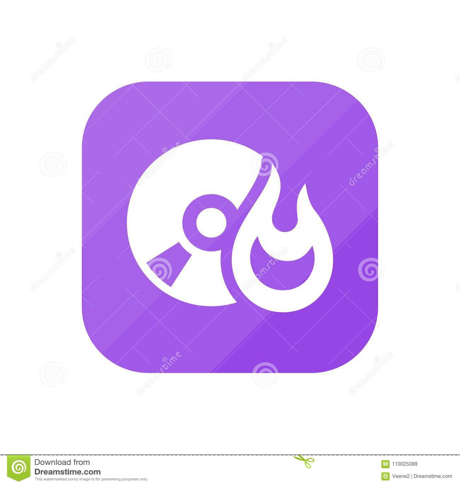 Brandwondcd - App Pictogram