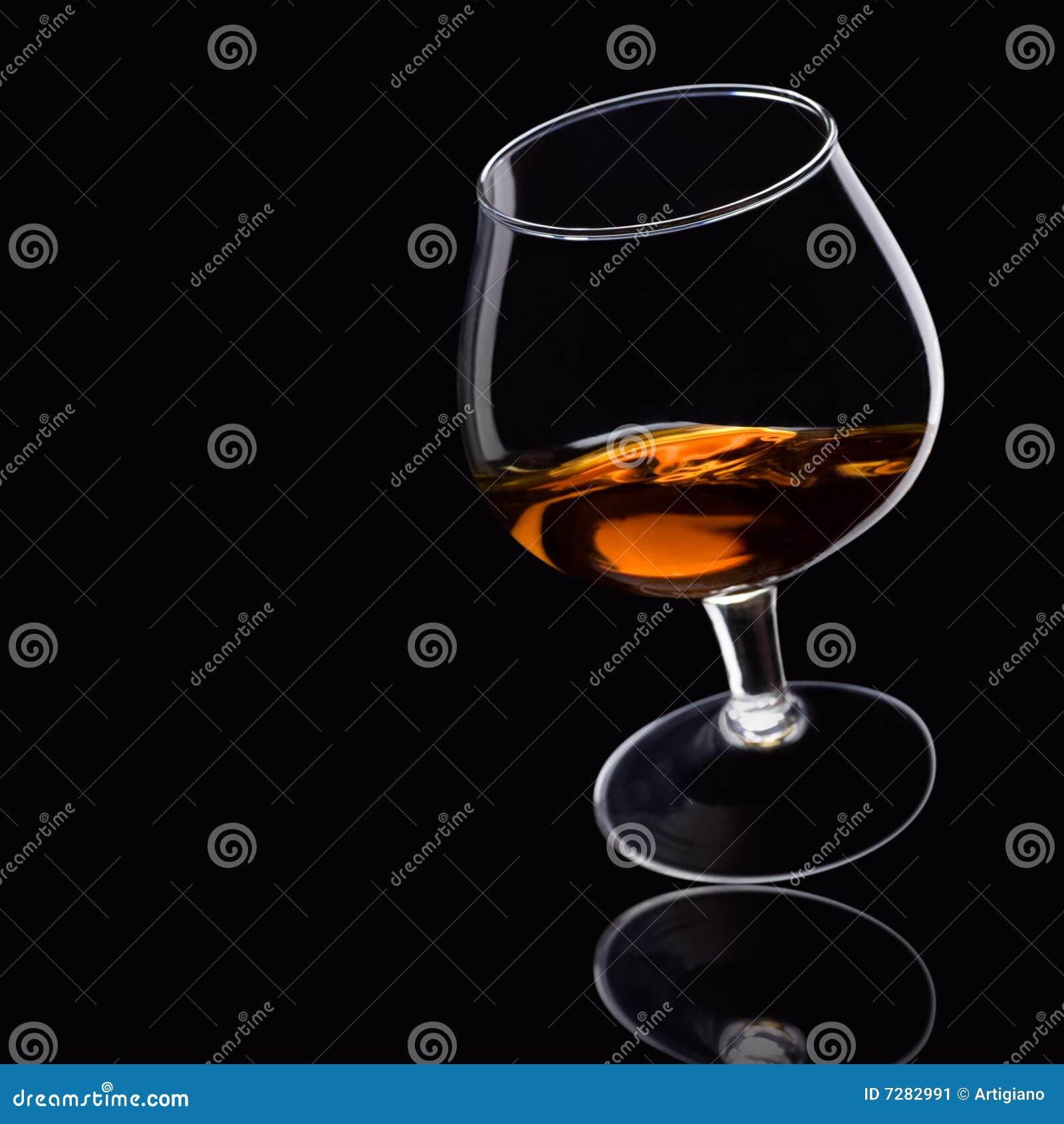 Brandy en negro