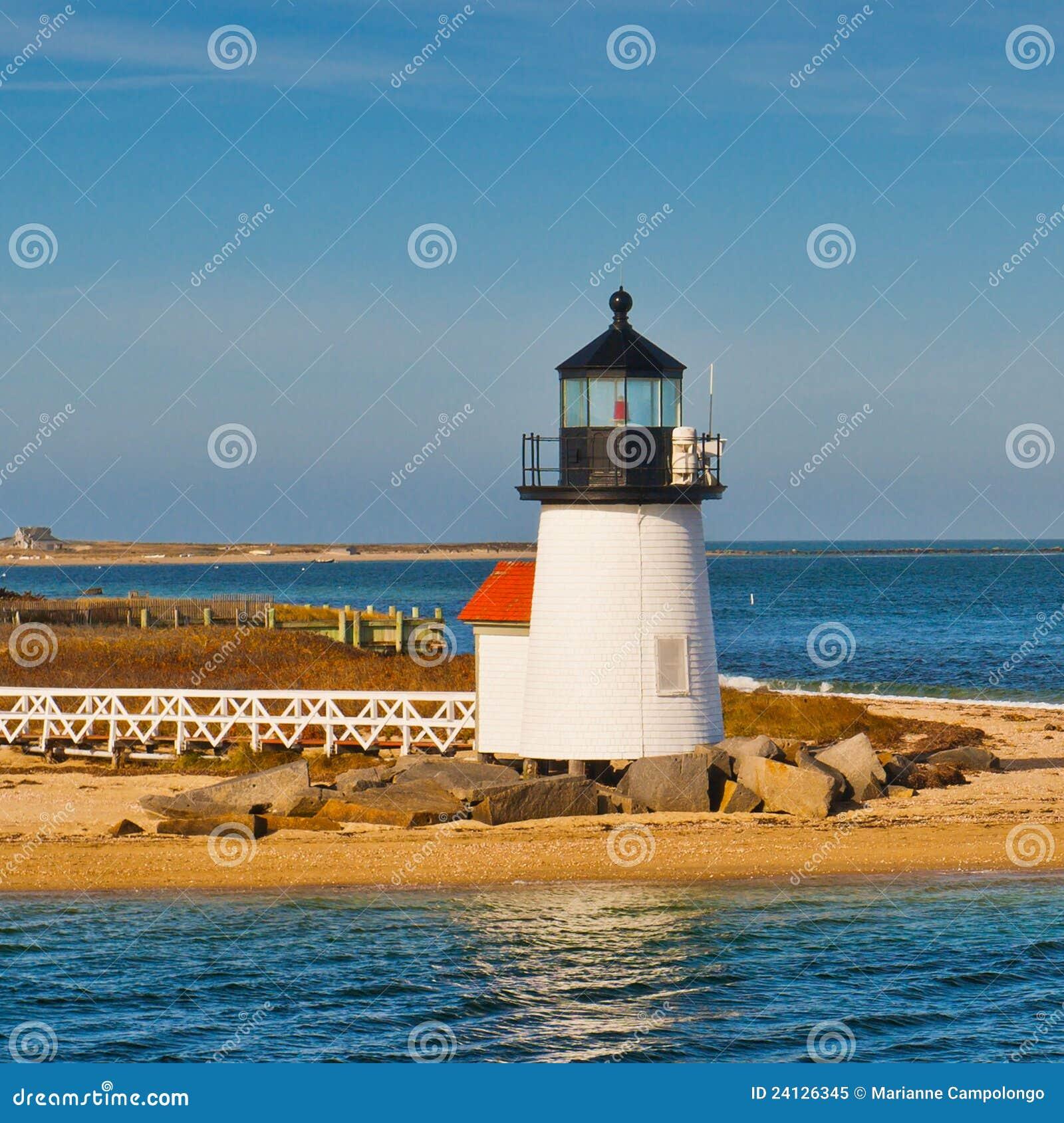 Brant-Punkt-Leuchtturm Nantucket Massachusetts US