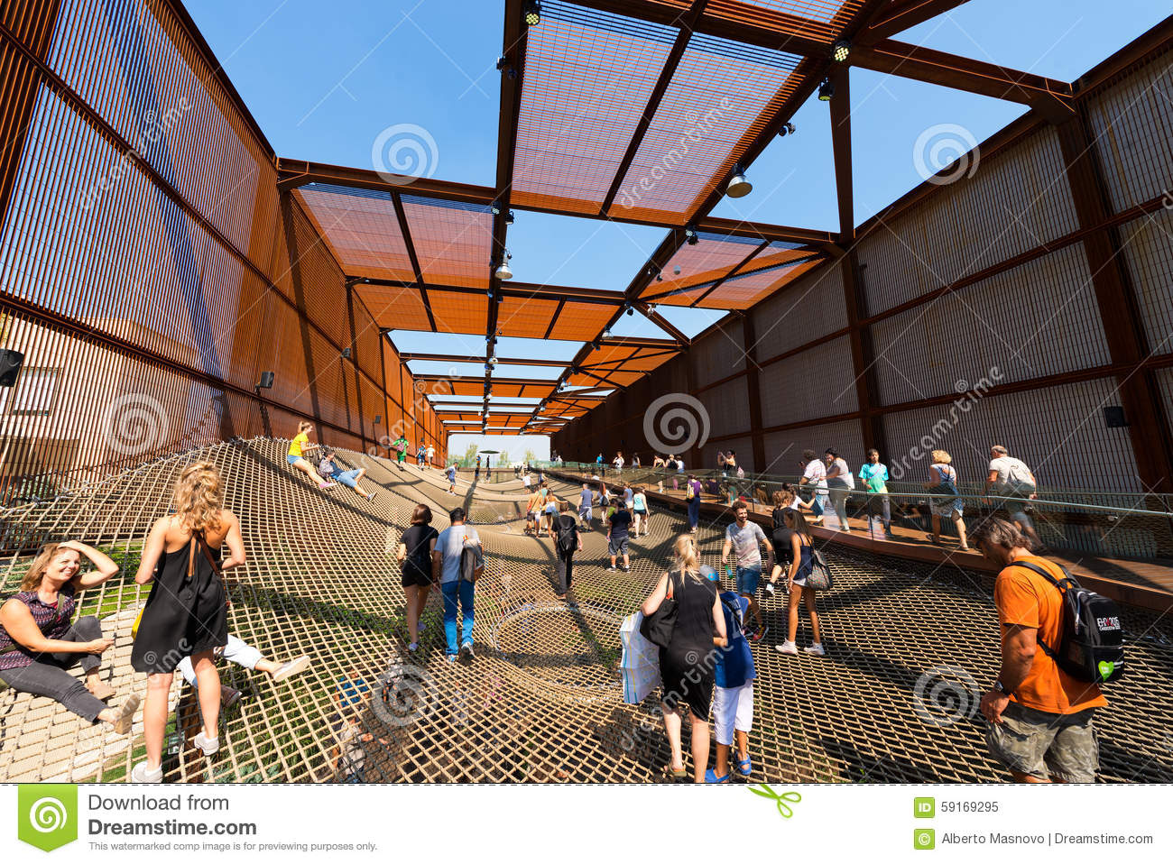 America pavilion at expo milano 2015 editorial photo for Home decor expo 2015