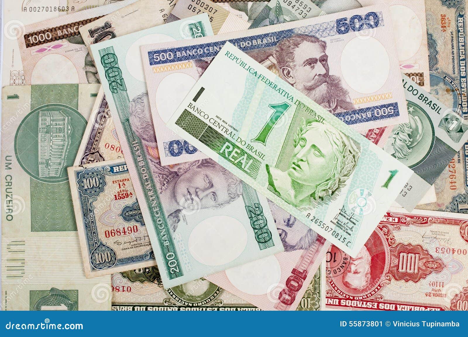 Brasilianska gamla pengar