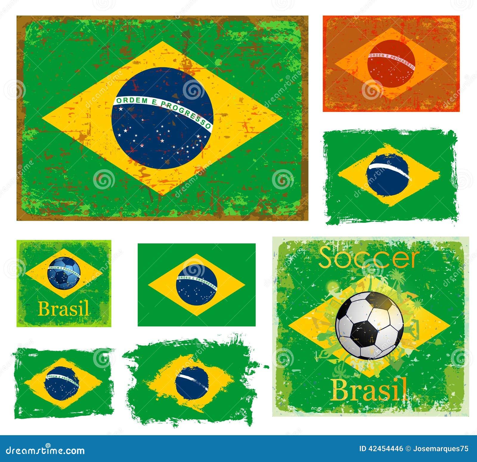 Brasilien-Flaggensammlung