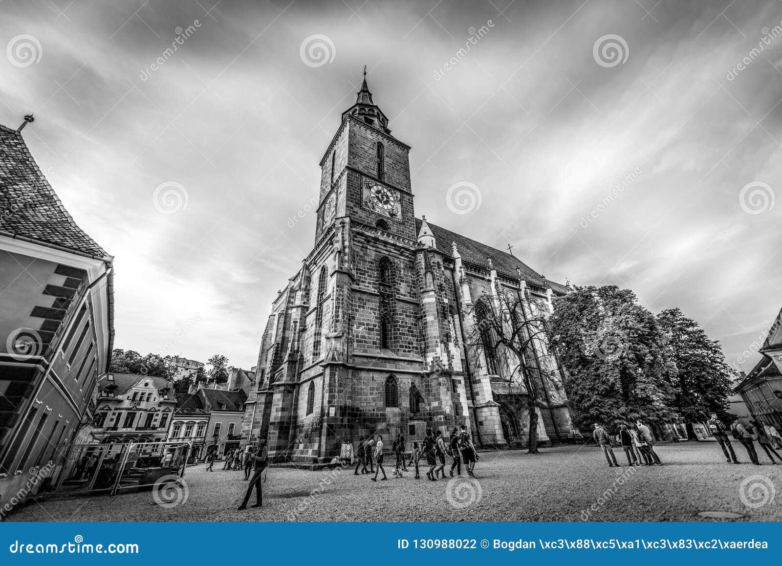 Brasov czarny kościół Romania