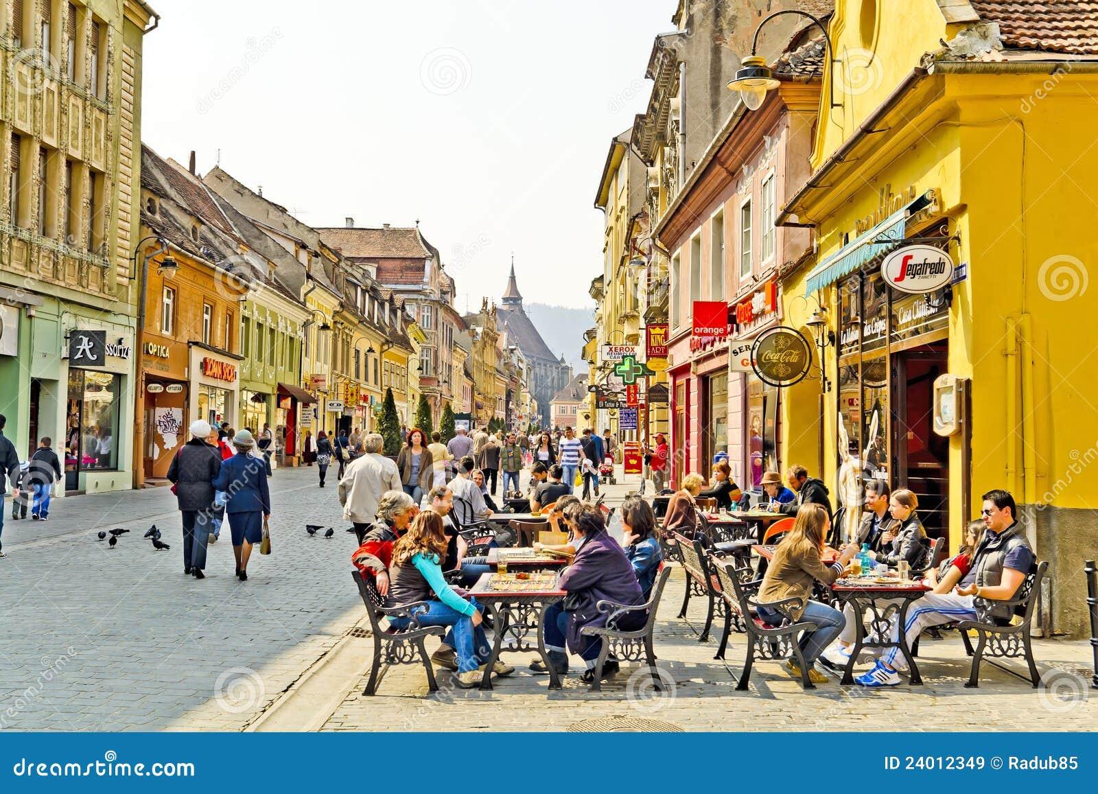 Brasov historische Mitte