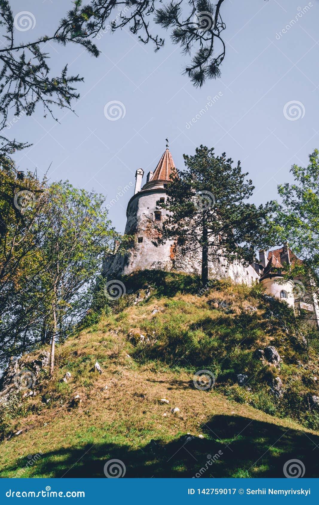 Brasov, la Transylvanie Roumanie Le château médiéval du son Voyage et vacances vers l Europe, visite beau jour ensoleillé, l espa