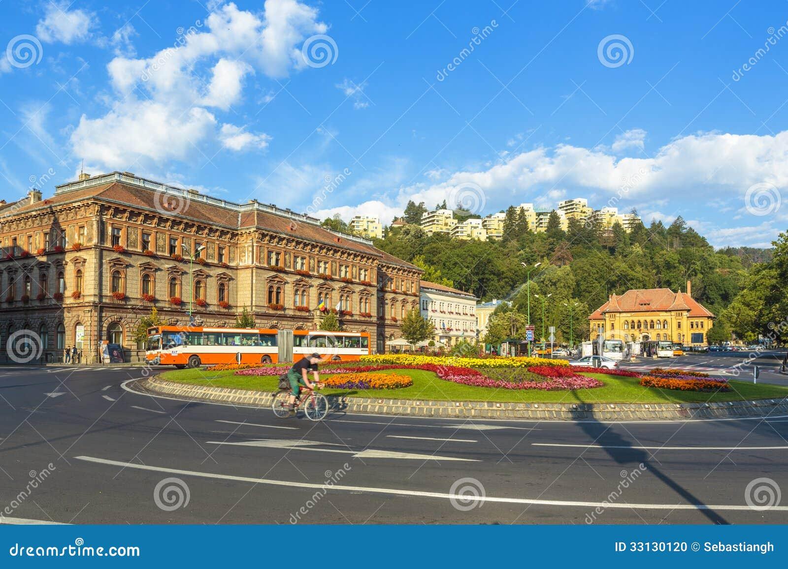 Brasov stad, Rumänien