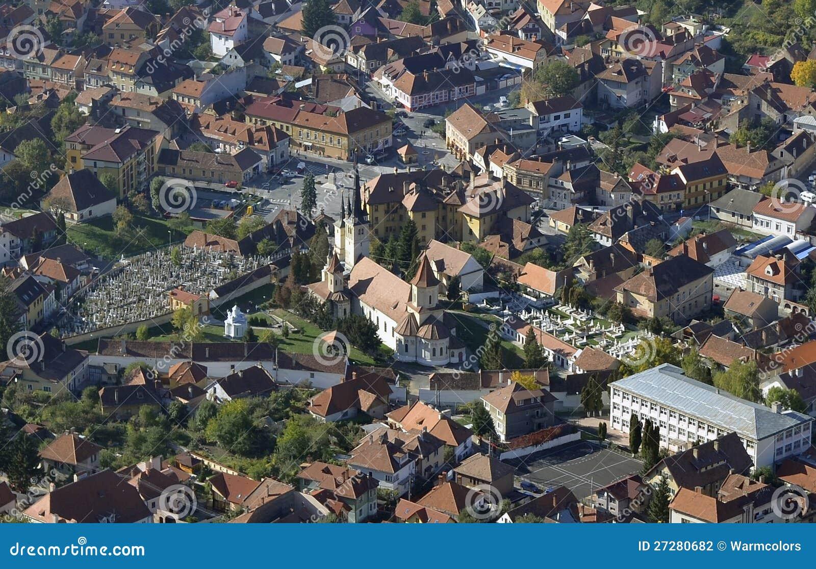 Brasov stadsmitt, Rumänien