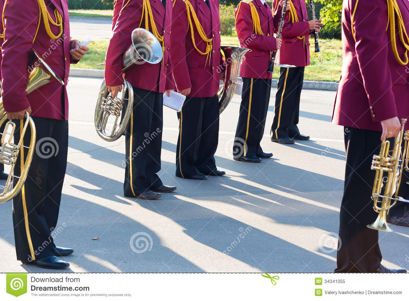 Brass Band stock image  Image of band, horizontal, marching - 34341055