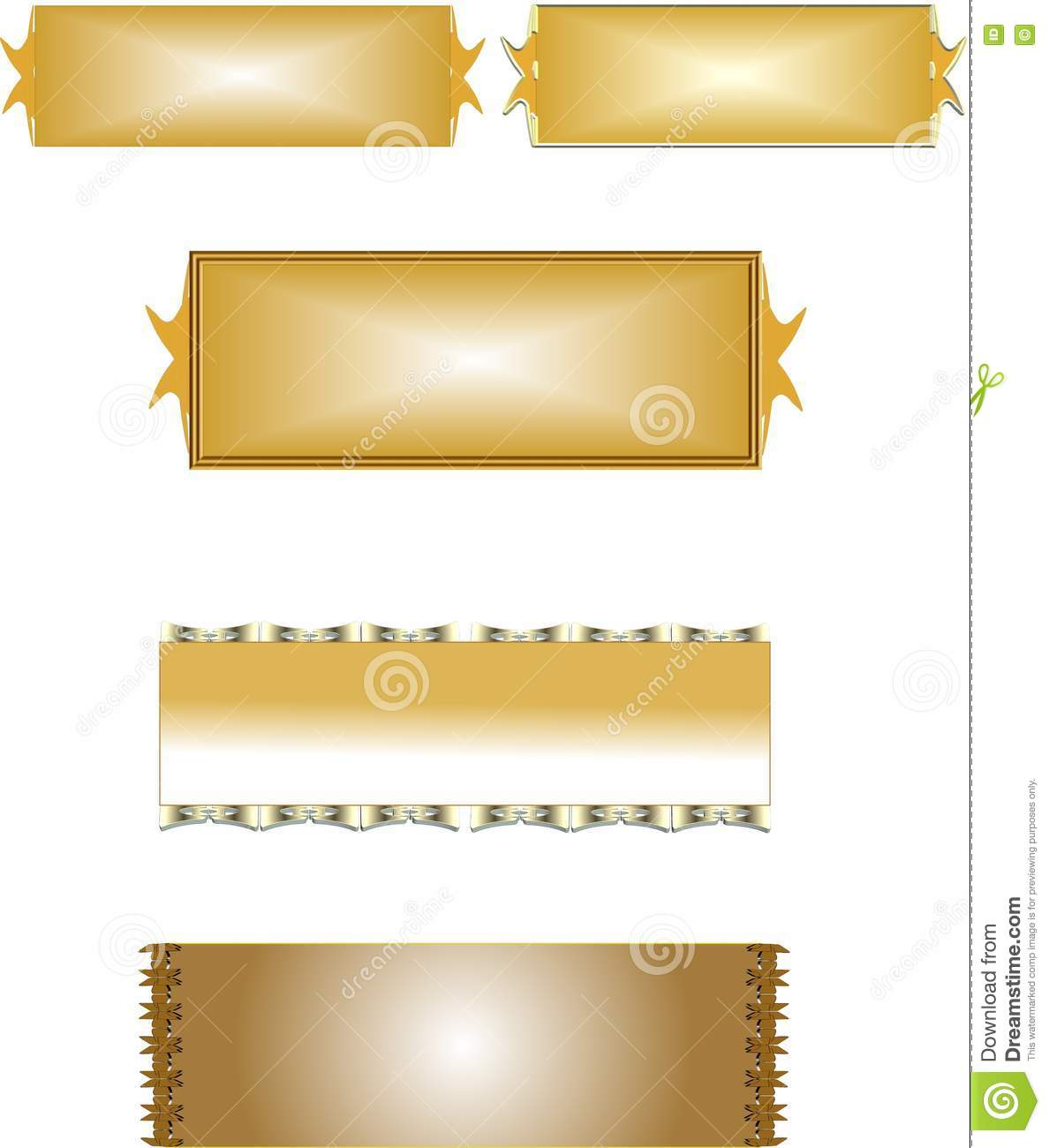 Brass name plates stock illustration image of tags memo - Brass name plate designs for home ...