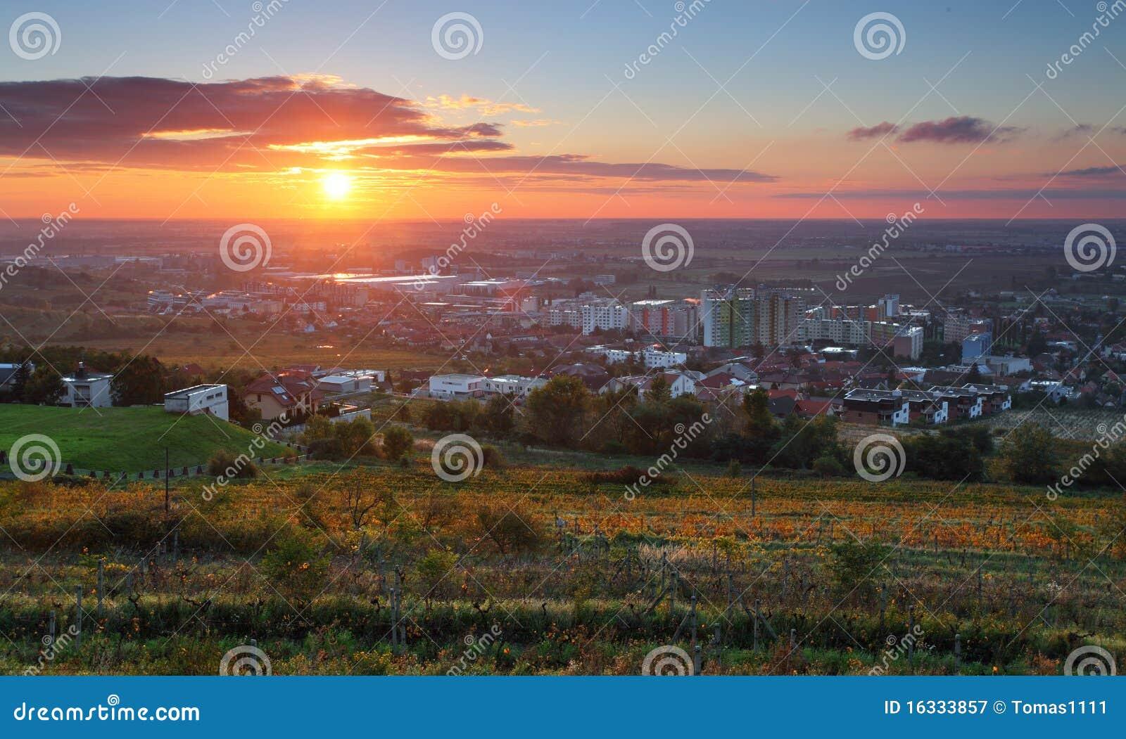 Bratislava au lever de soleil