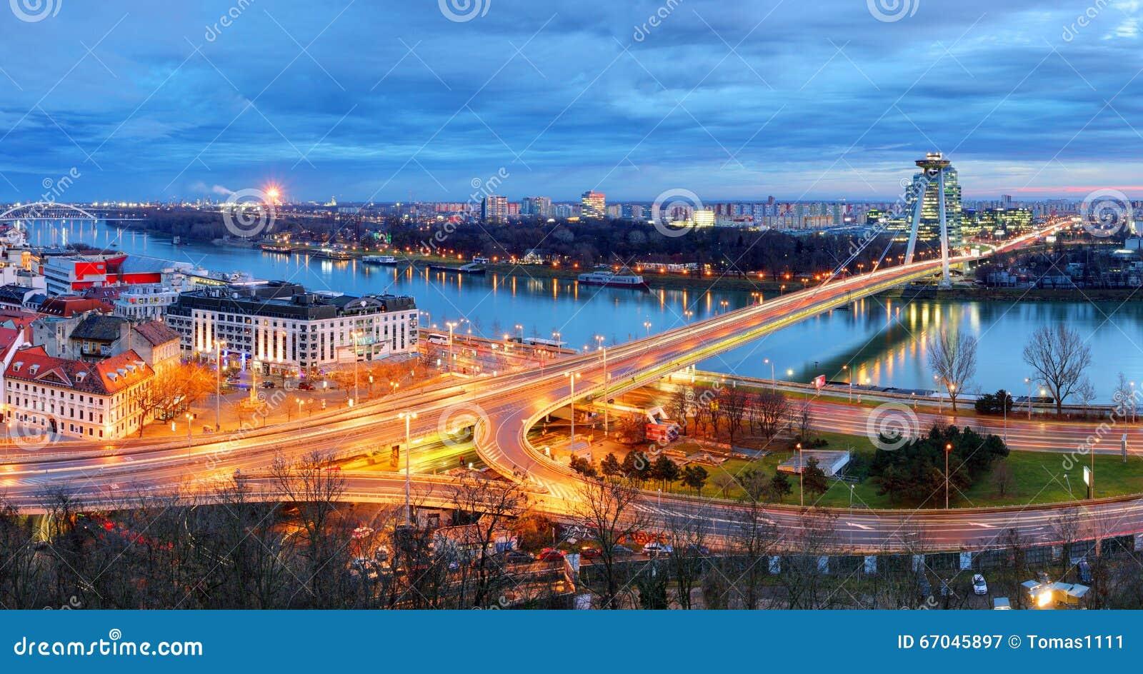 Bratislava-Brücke - Slowakei